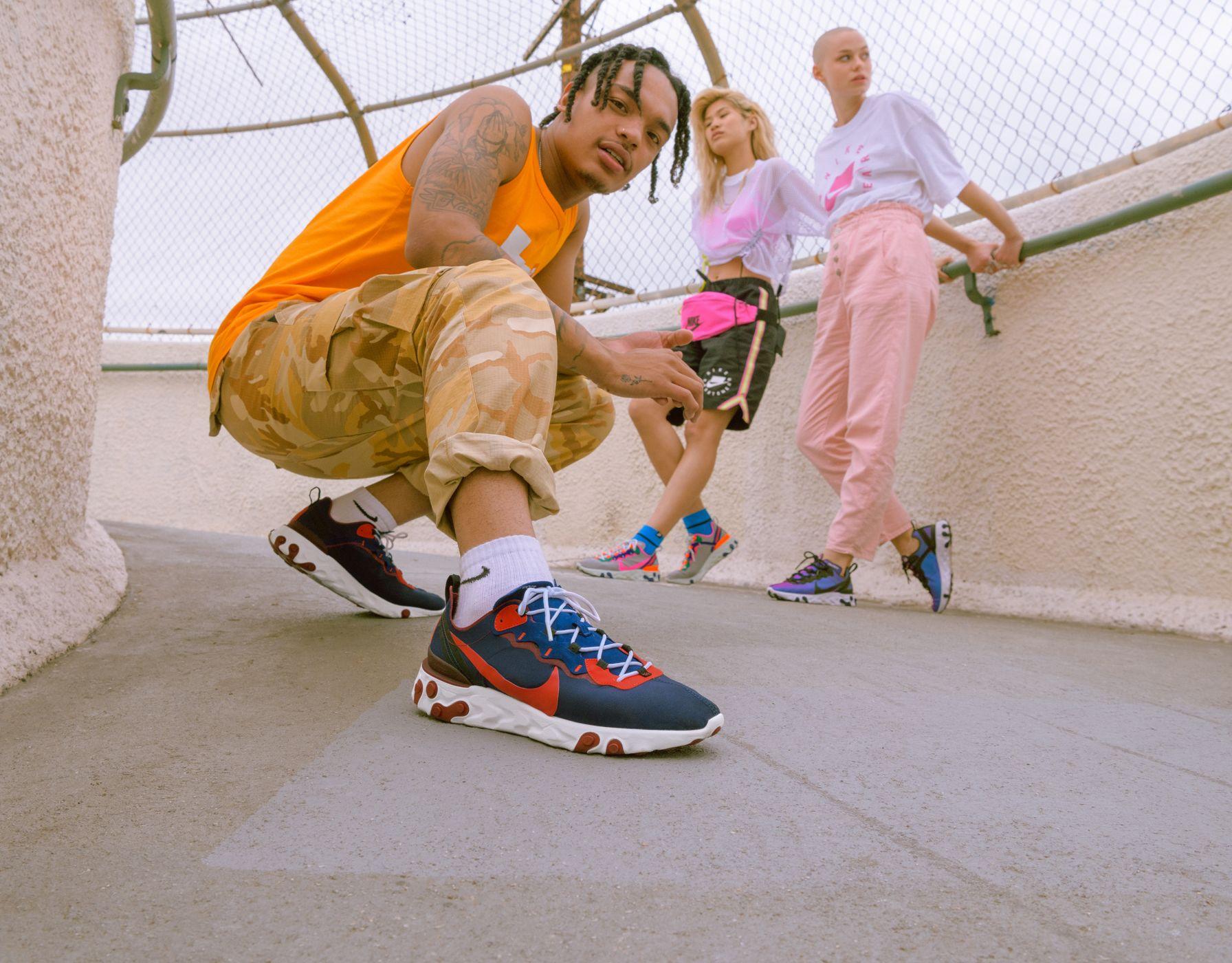 8037b0da8fa Nike Sportswear's React Element 55