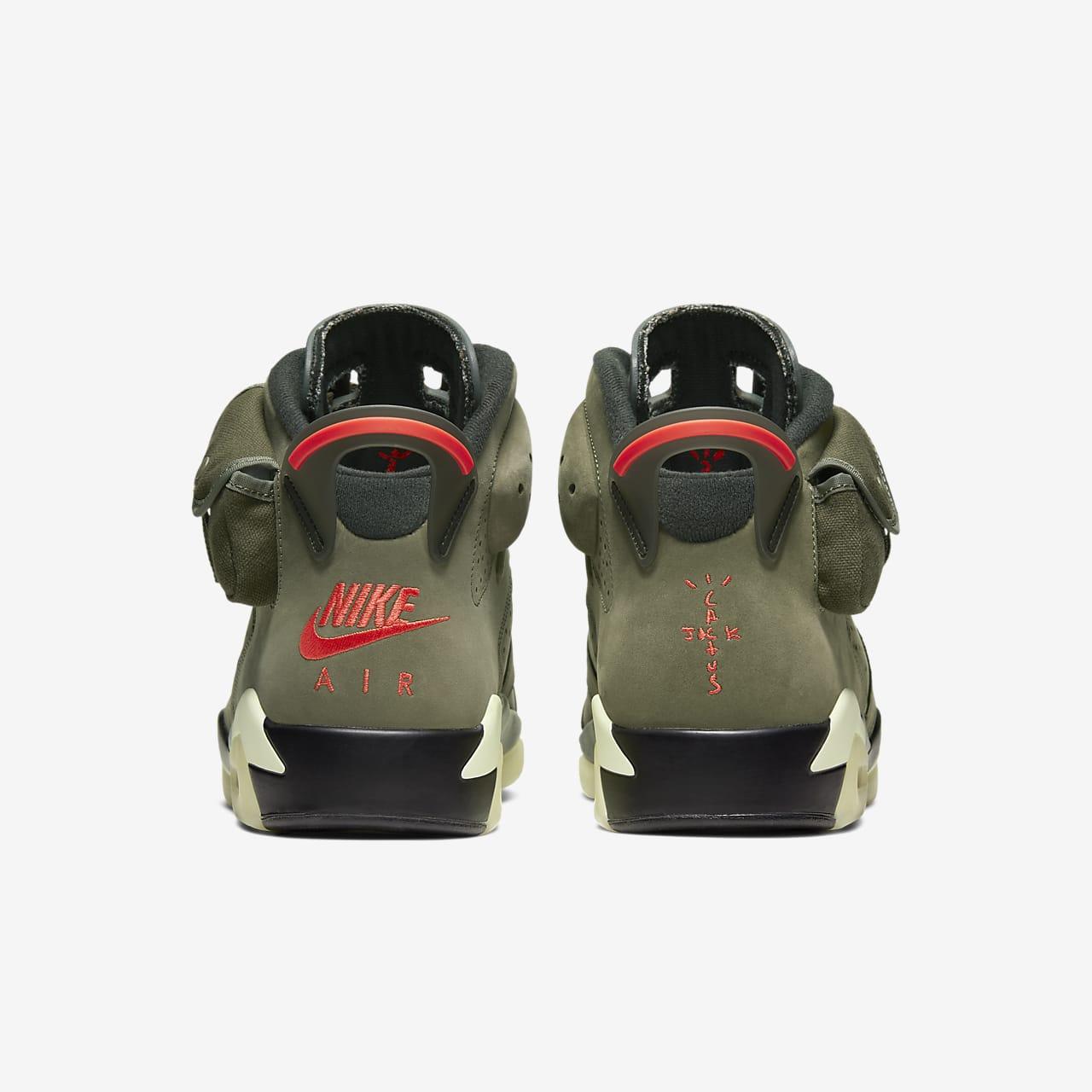 Travis Scott x Nike Air Jordan 6 Cactus Jack Where To Buy