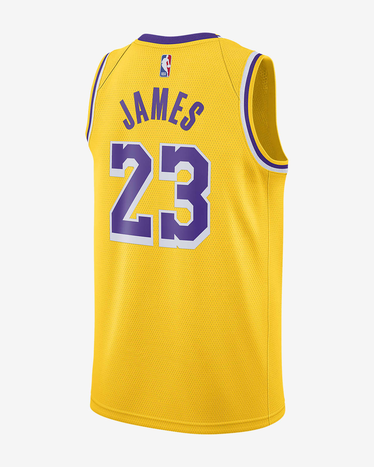 LeBron James Lakers Icon Edition Nike NBA Swingman drakt