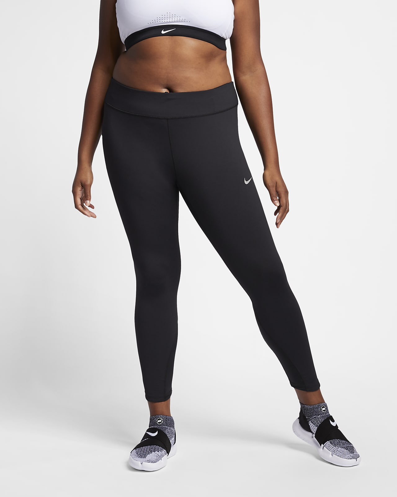 Nike Epic Lux Women's Mid-Rise Running Tights (Plus Size)