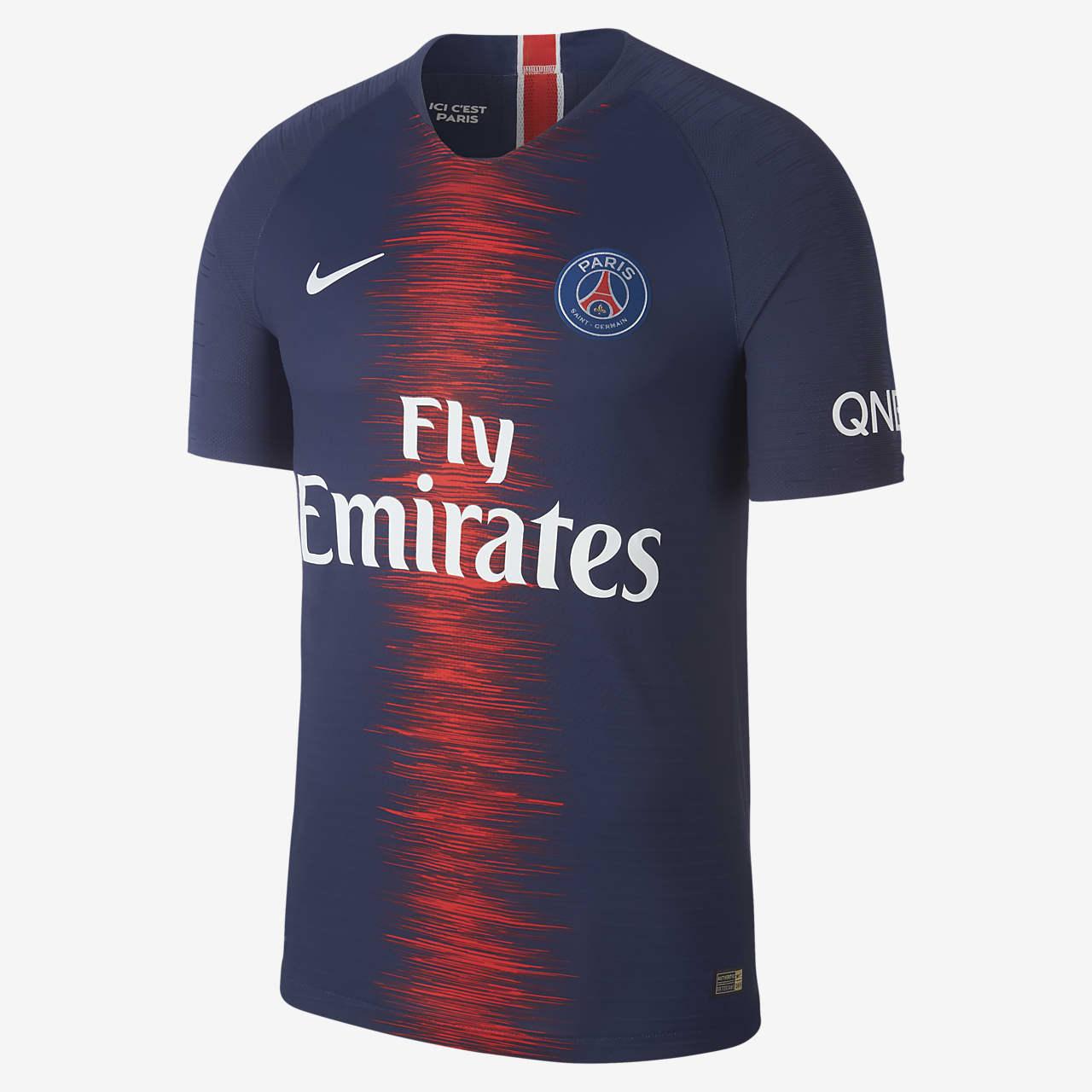 Camiseta de fútbol para hombre de local Vapor Match del Paris Saint-Germain 2018/19