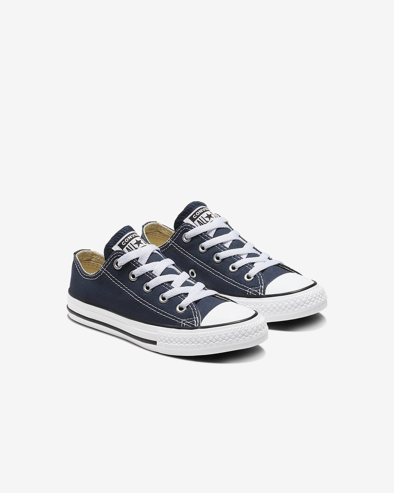 Converse Chuck Taylor All Star Lo Top Little Kids Navy