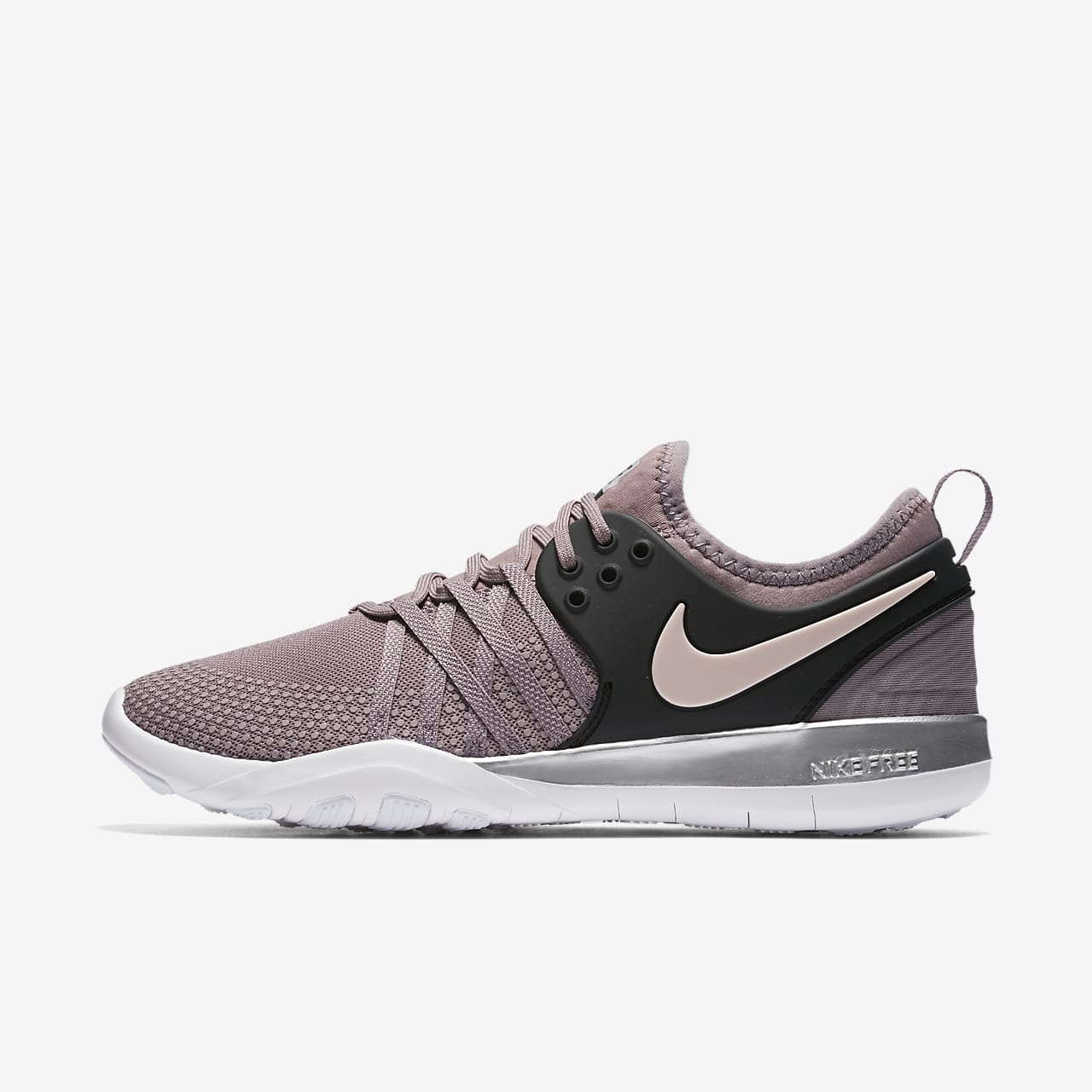 Nike Free TR 7 Chrome Blush Women's Gym/HIIT/Cross Training Shoe. Nike ID
