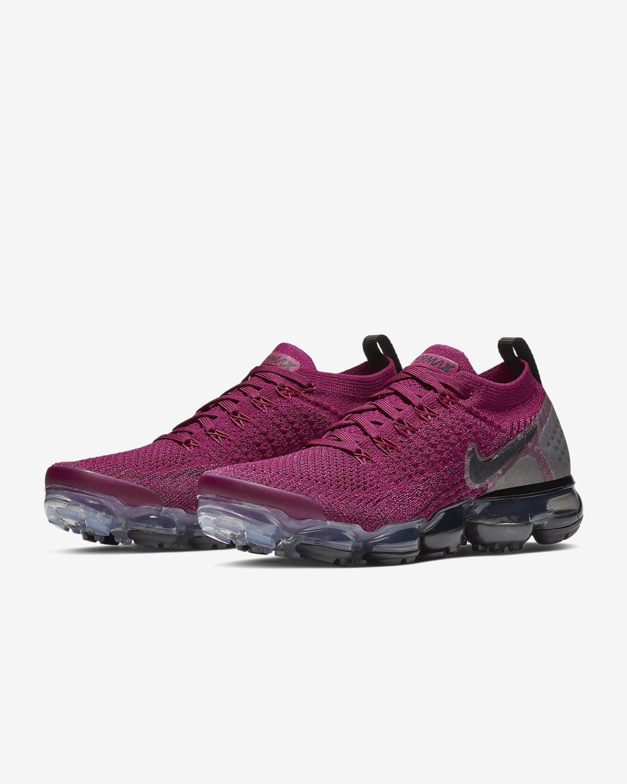Nike Air Vapormax 2019 Pink White Womens Size 7 Tennis Running Shoes Pink Rise
