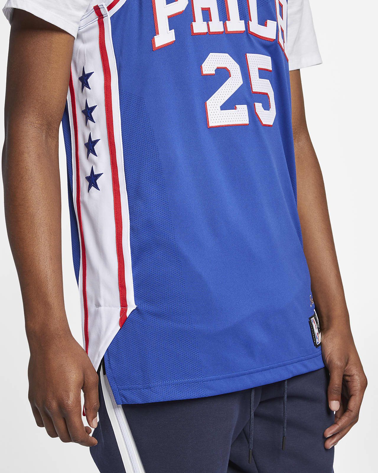 76ers authentic jersey