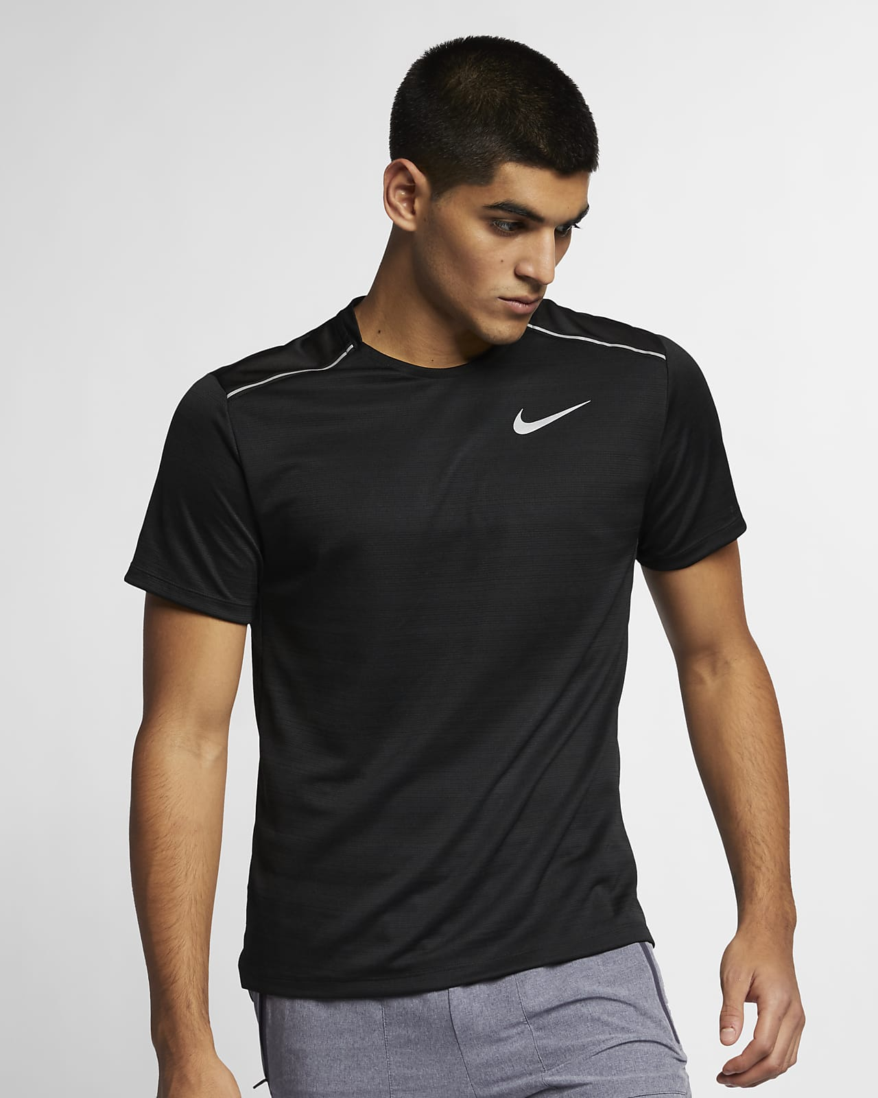 Nike Dri-FIT Miler Men's Short-Sleeve Running Top