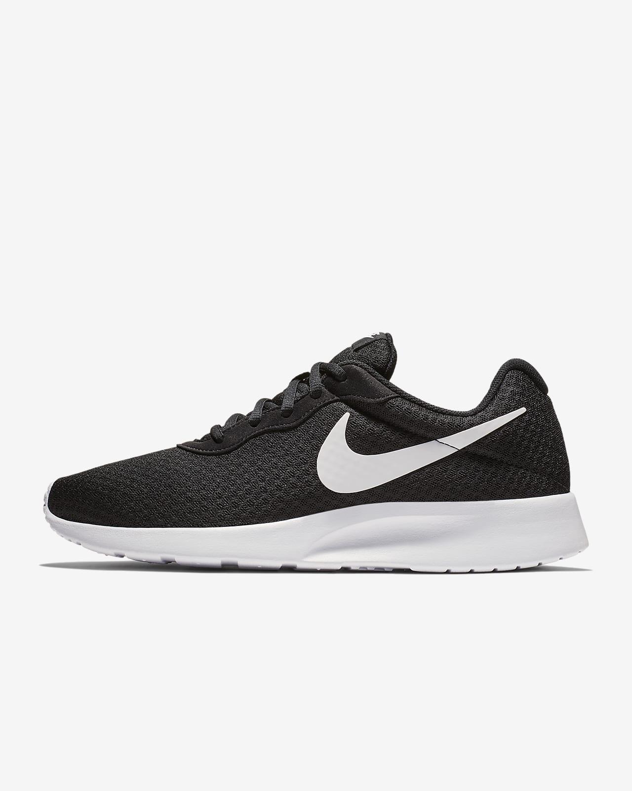 scarpe nike tanjun nero bianco