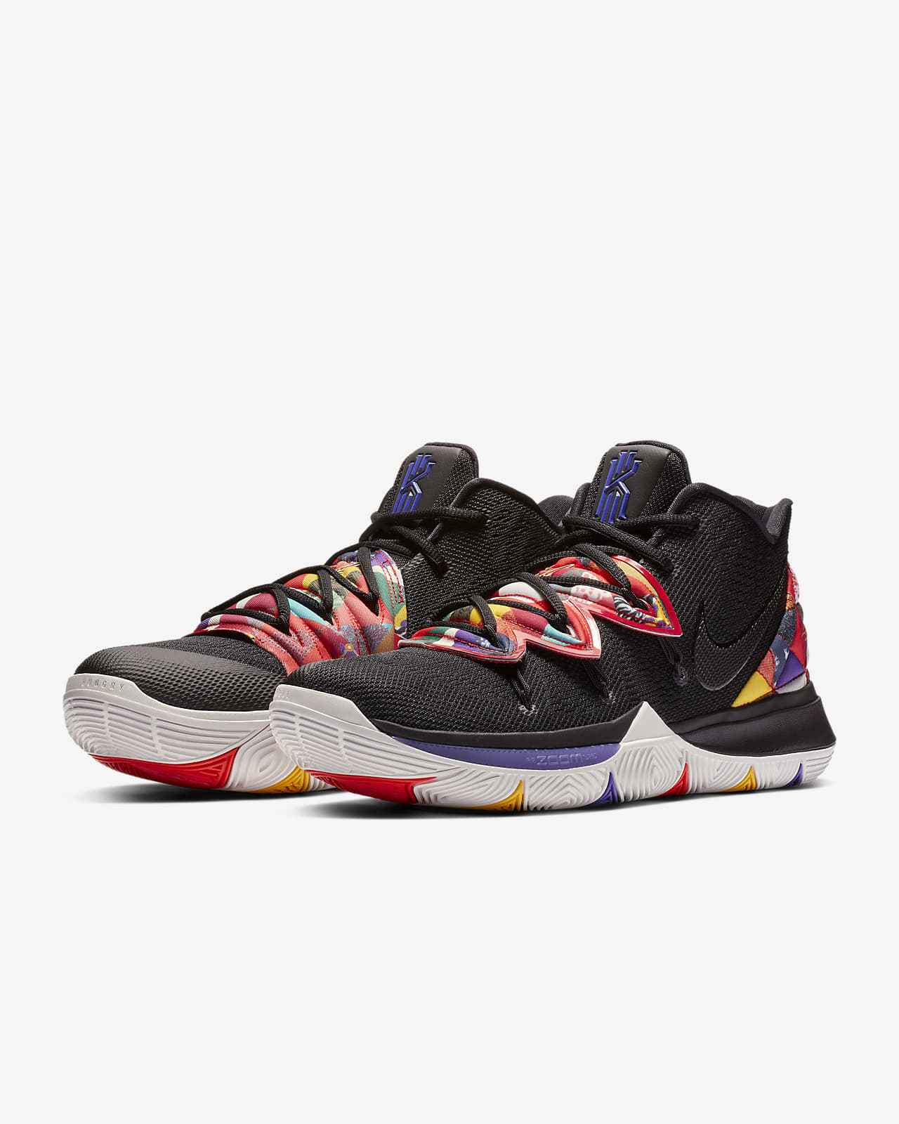 NIKE KYRIE 5 x SpongeBob EP NBA basketball shoes for