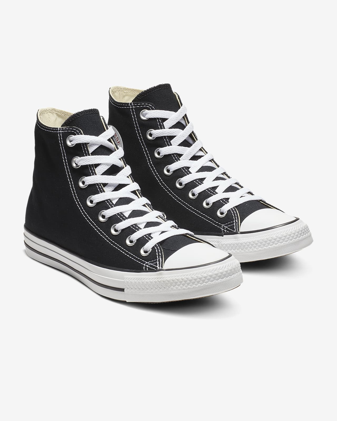 Converse Hi Top All Star Chuck Taylor Black White Mens Womens Shoes All Sizes