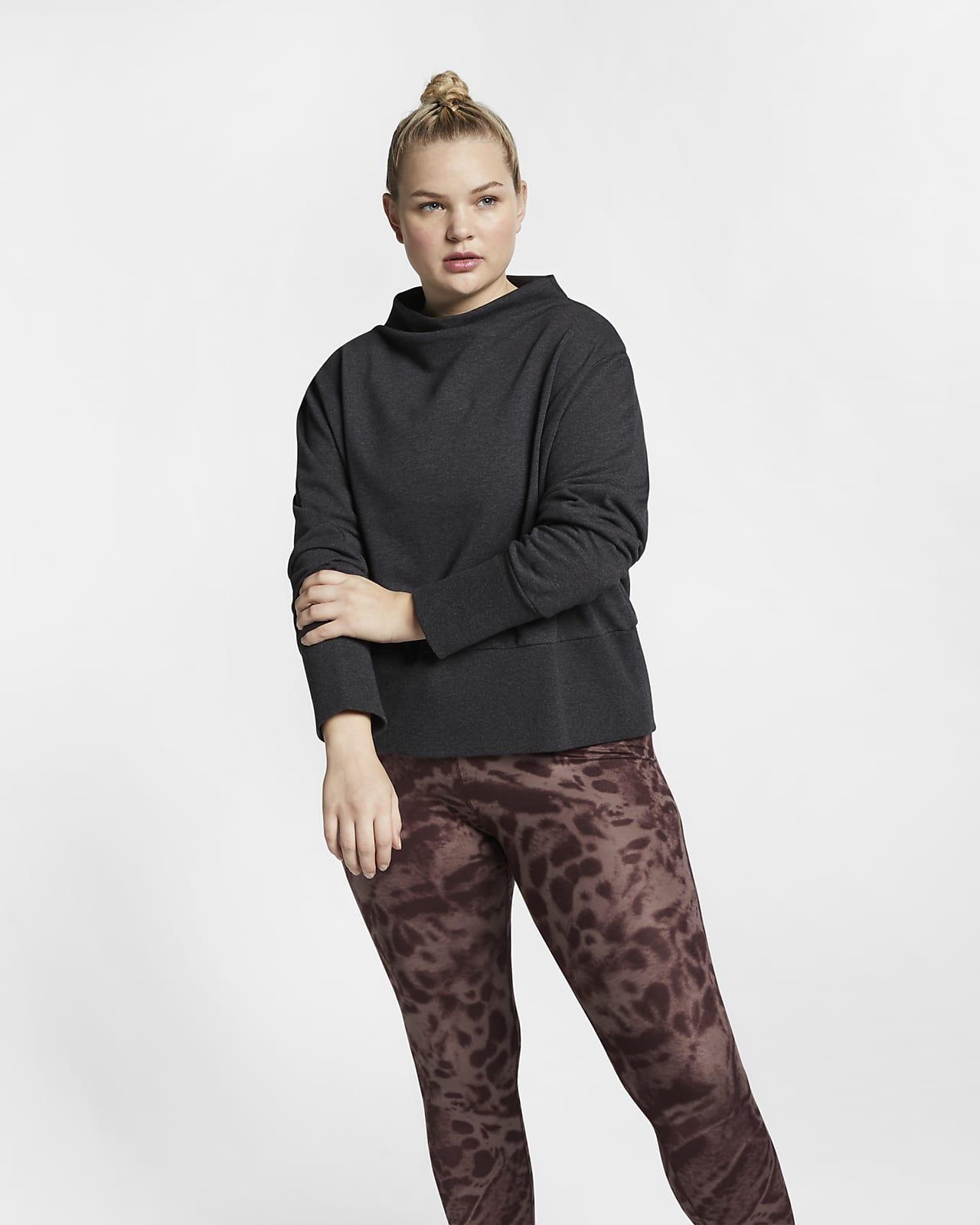 Nike Studio Women's Pullover Training Top (Plus Size)