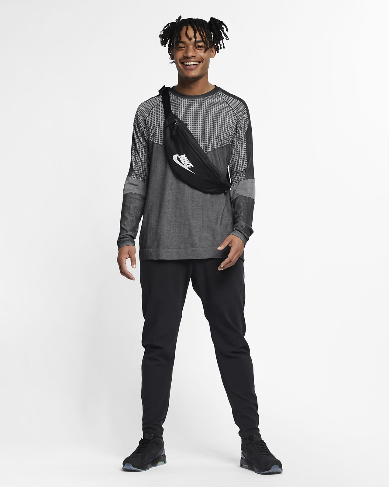 Nike Sportswear Tech Pack Men's Long Sleeve Knit Top