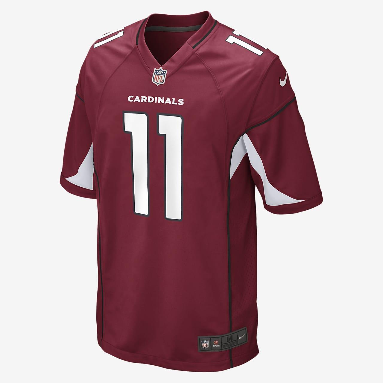 Camiseta oficial de fútbol americano para hombre NFL Arizona Cardinals (Larry Fitzgerald) de local
