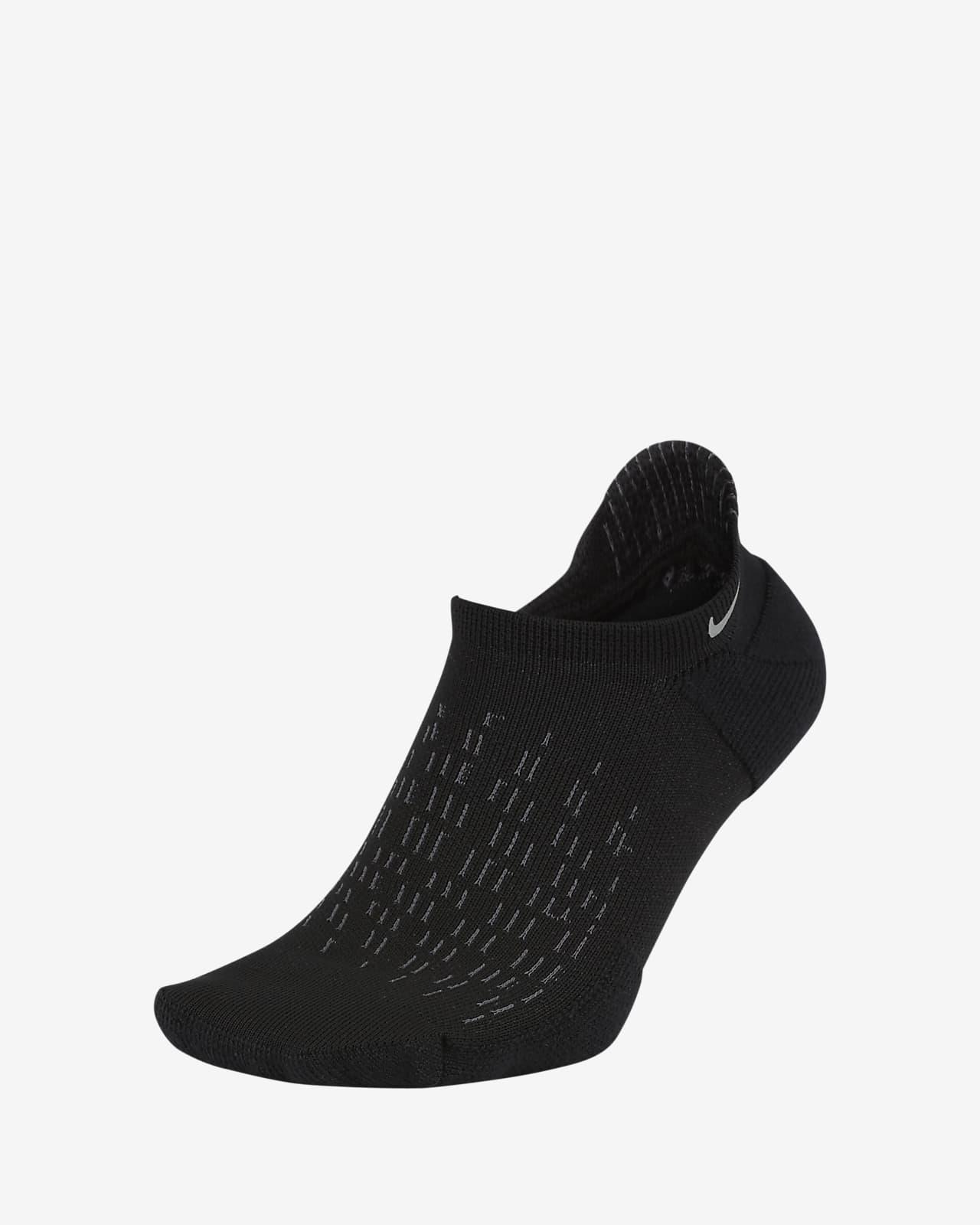 ถุงเท้าวิ่ง Nike Elite Cushioned No-Show