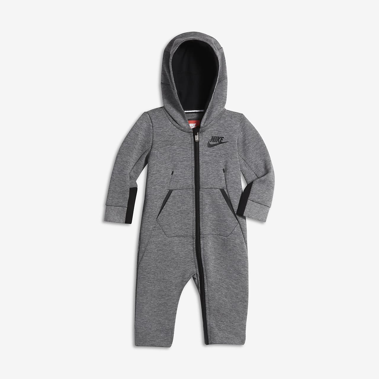 Nike Tech Fleece Fleece-Overall für Kleinkinder