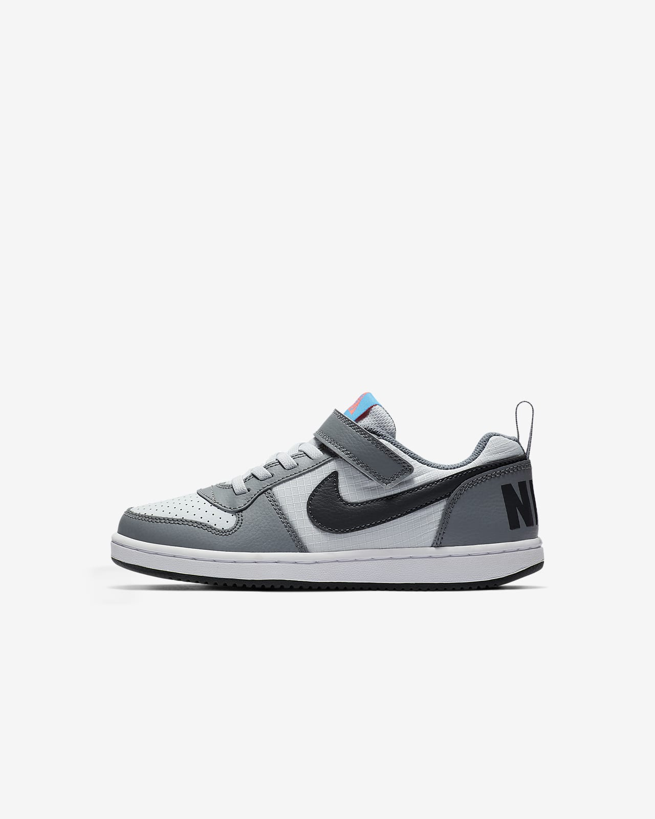 NikeCourt Borough Low Younger Kids