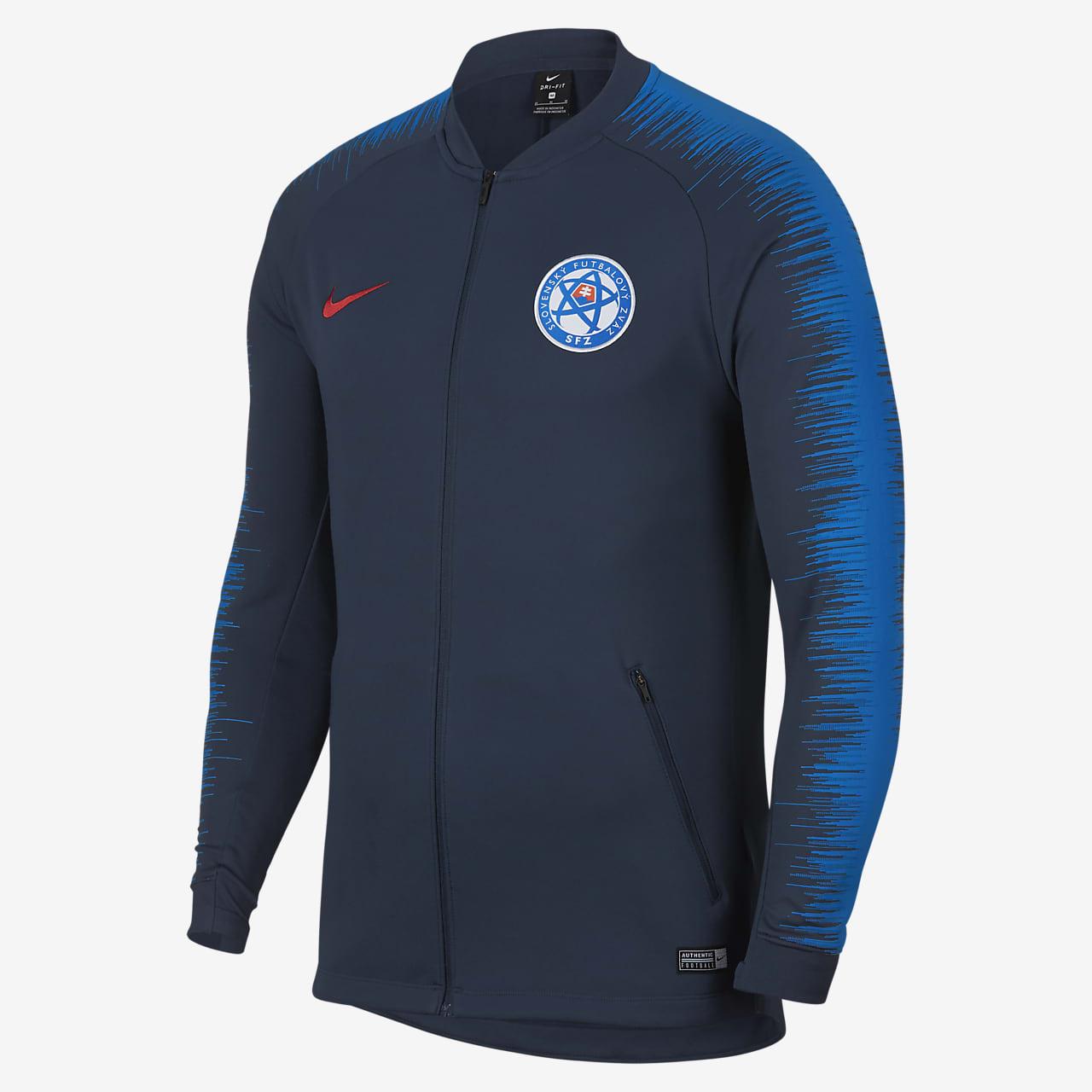 Мужская футбольная куртка Slovakia Anthem