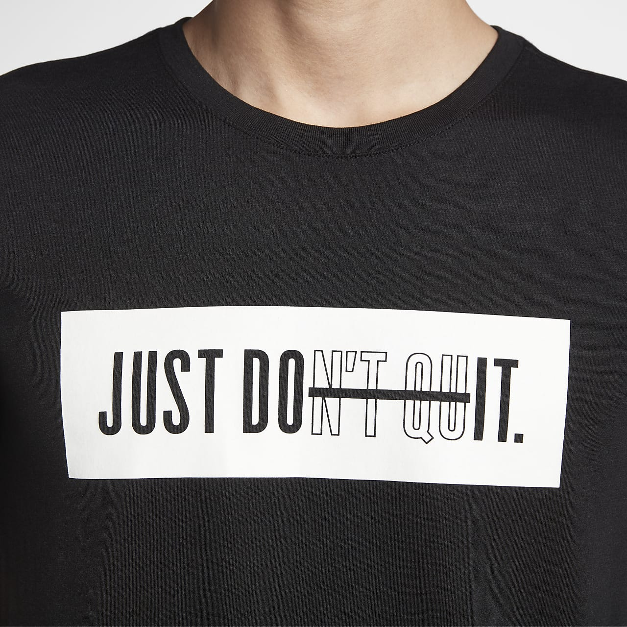 Nike Dri Fit Just Don T Quit Men S Training T Shirt Nike Vn
