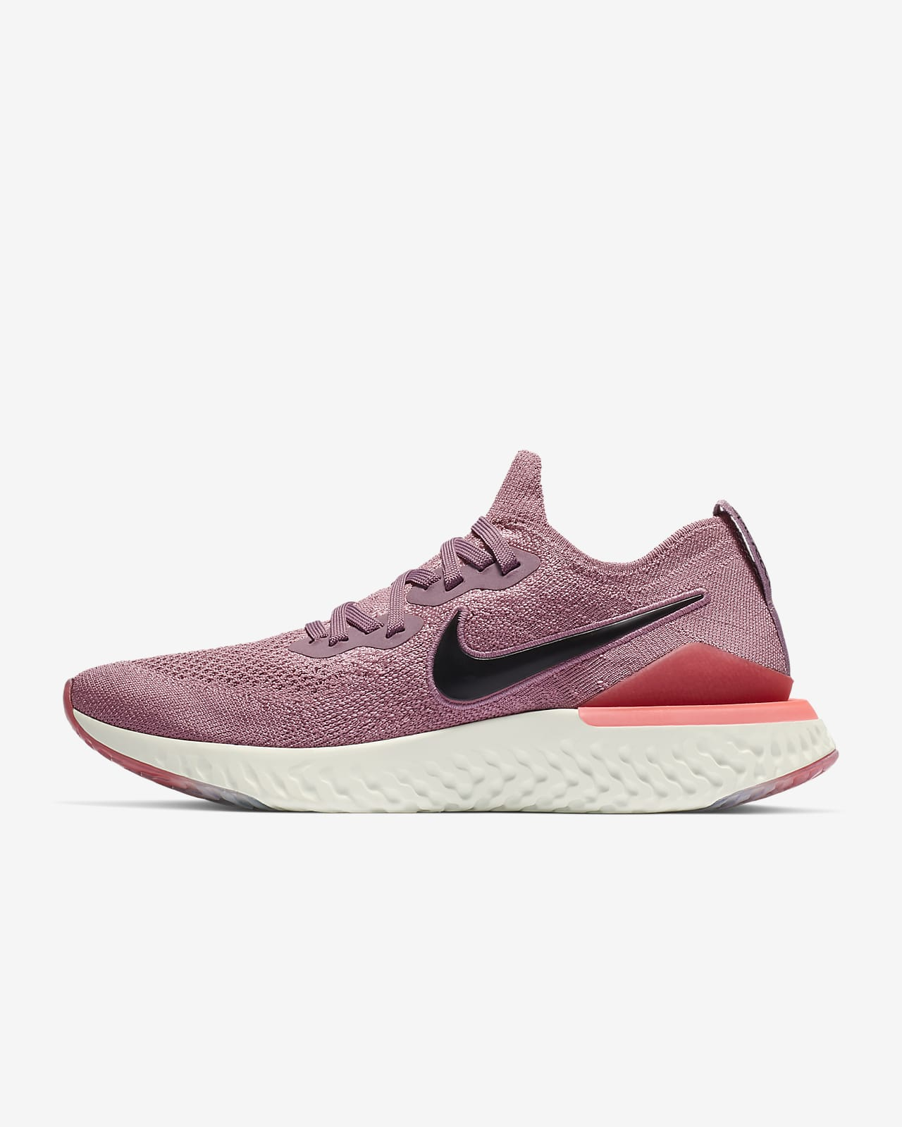 nike epic react flyknit white rose gold
