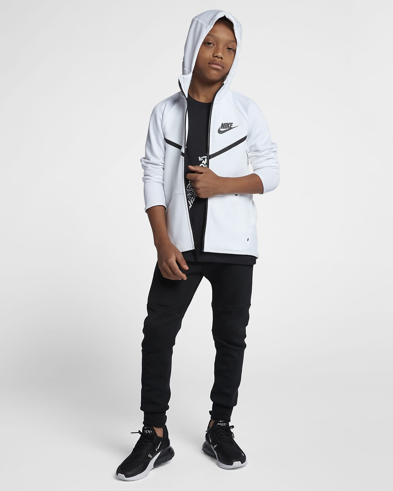 Pantalones De Tejido Tech Fleece Para Ninos Talla Grande Nike Sportswear Nike Com