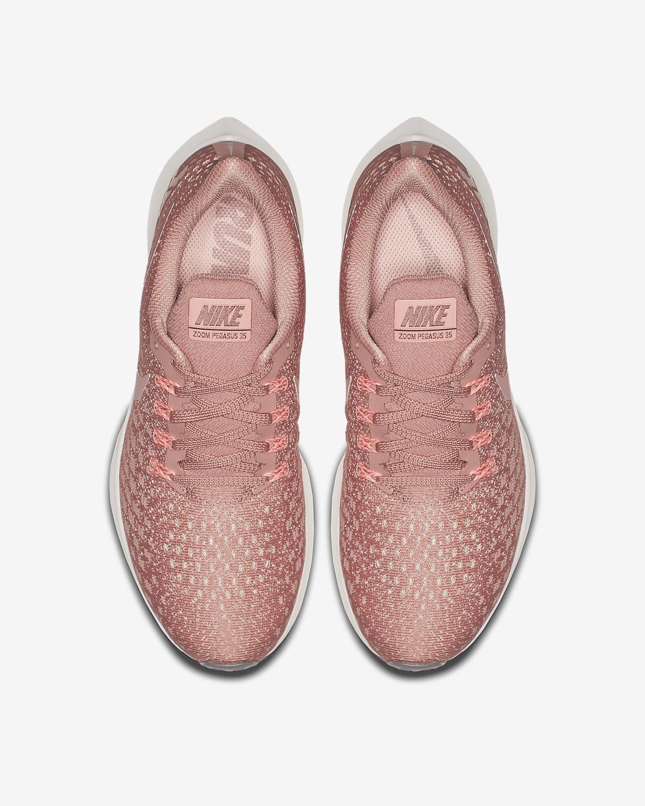 nike air zoom pegasus rust pink