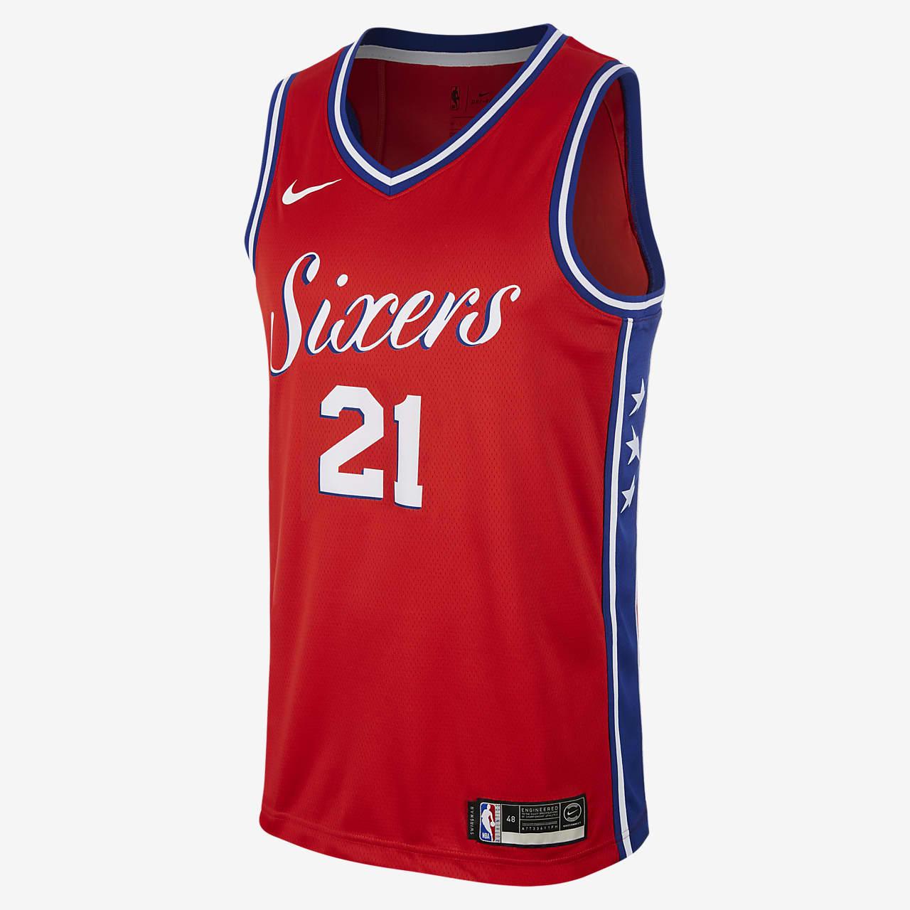 Joel Embiid 76ers Statement Edition Nike NBA Swingman Jersey