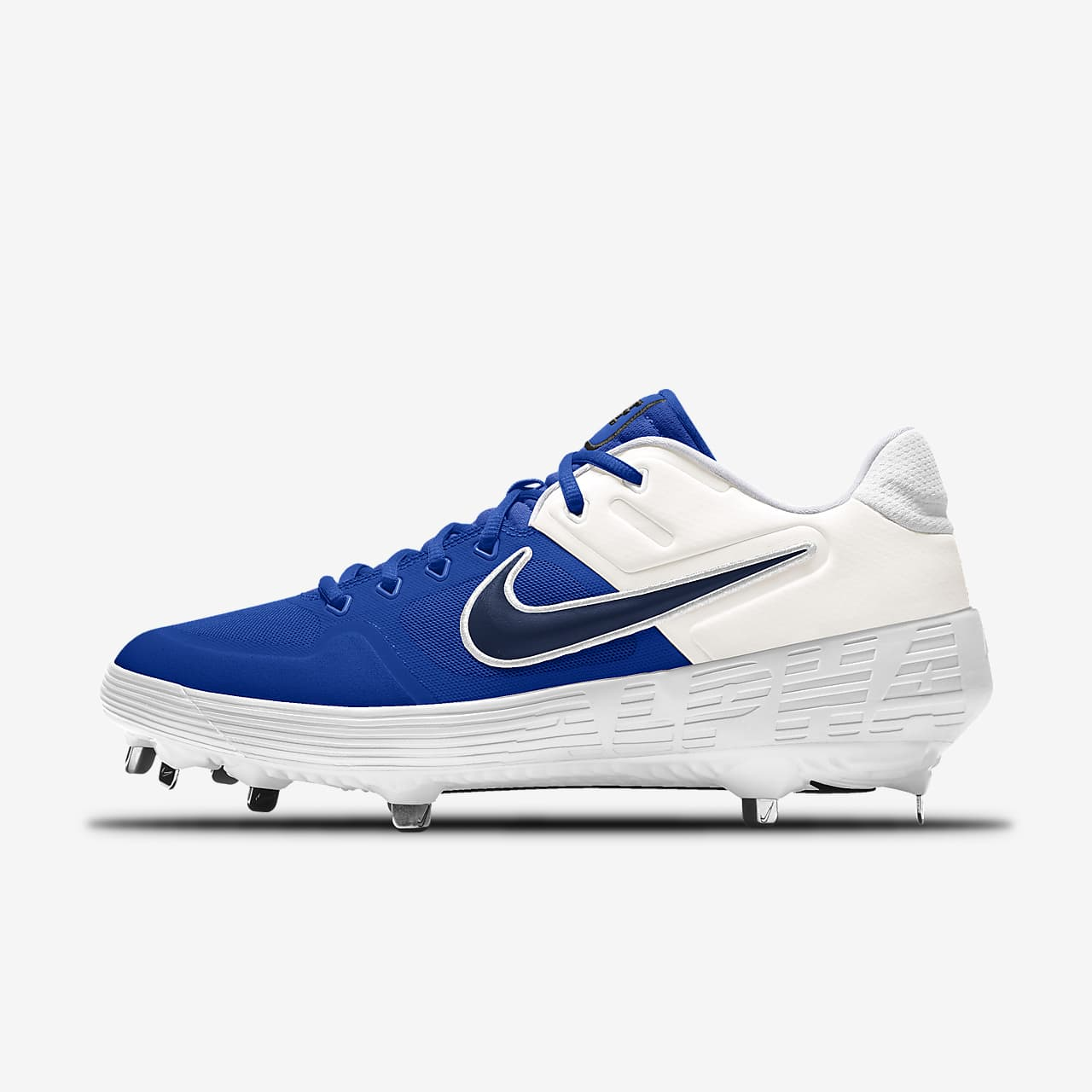 Chaussure de baseball à crampons personnalisable Nike Alpha Huarache Elite 2 Low By You