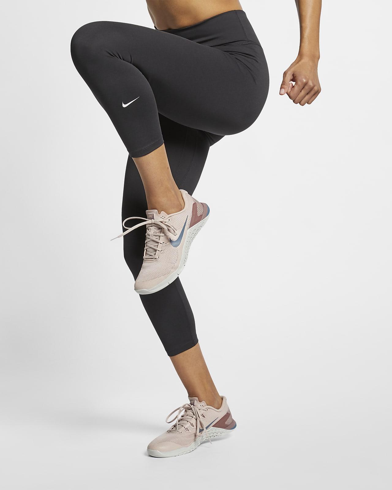 Nike One Malles de tres quarts amb cintura mitjana - Dona