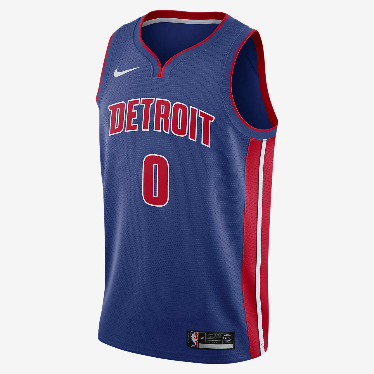 Camisola NBA da Nike Swingman Andre Drummond Pistons Icon Edition