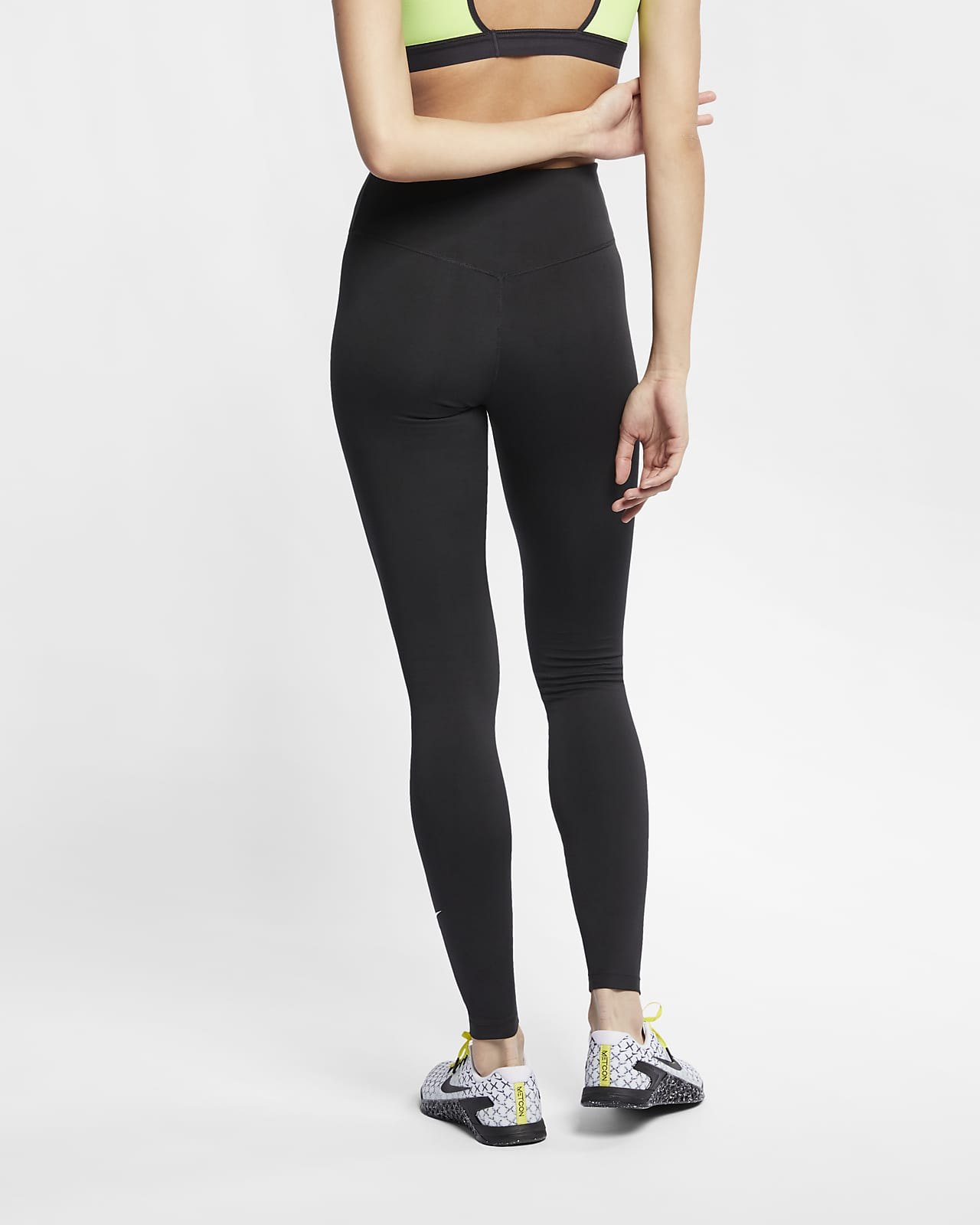 Womens nike pro intertwist leggings training high rise full length matching tops