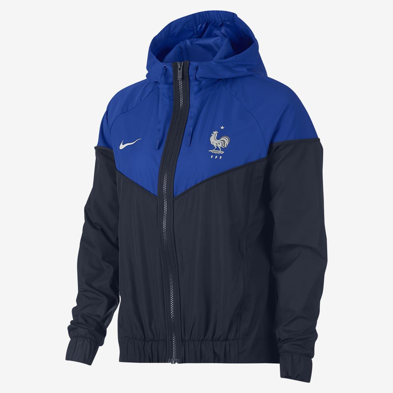 FFF Authentic Windrunner jakke til dame