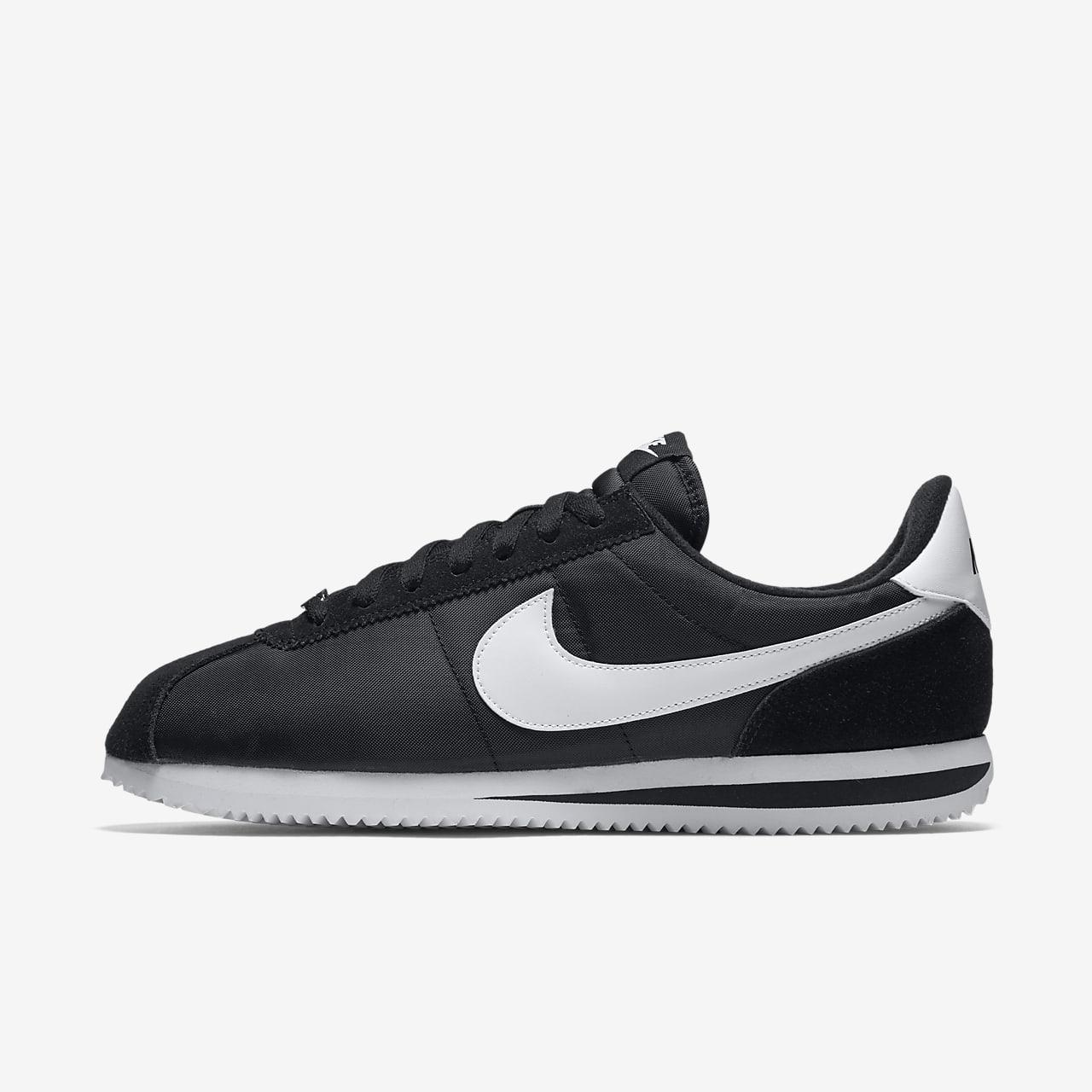 reinado Permanecer de pié verano  nike cortez basic black white Shop Clothing & Shoes Online