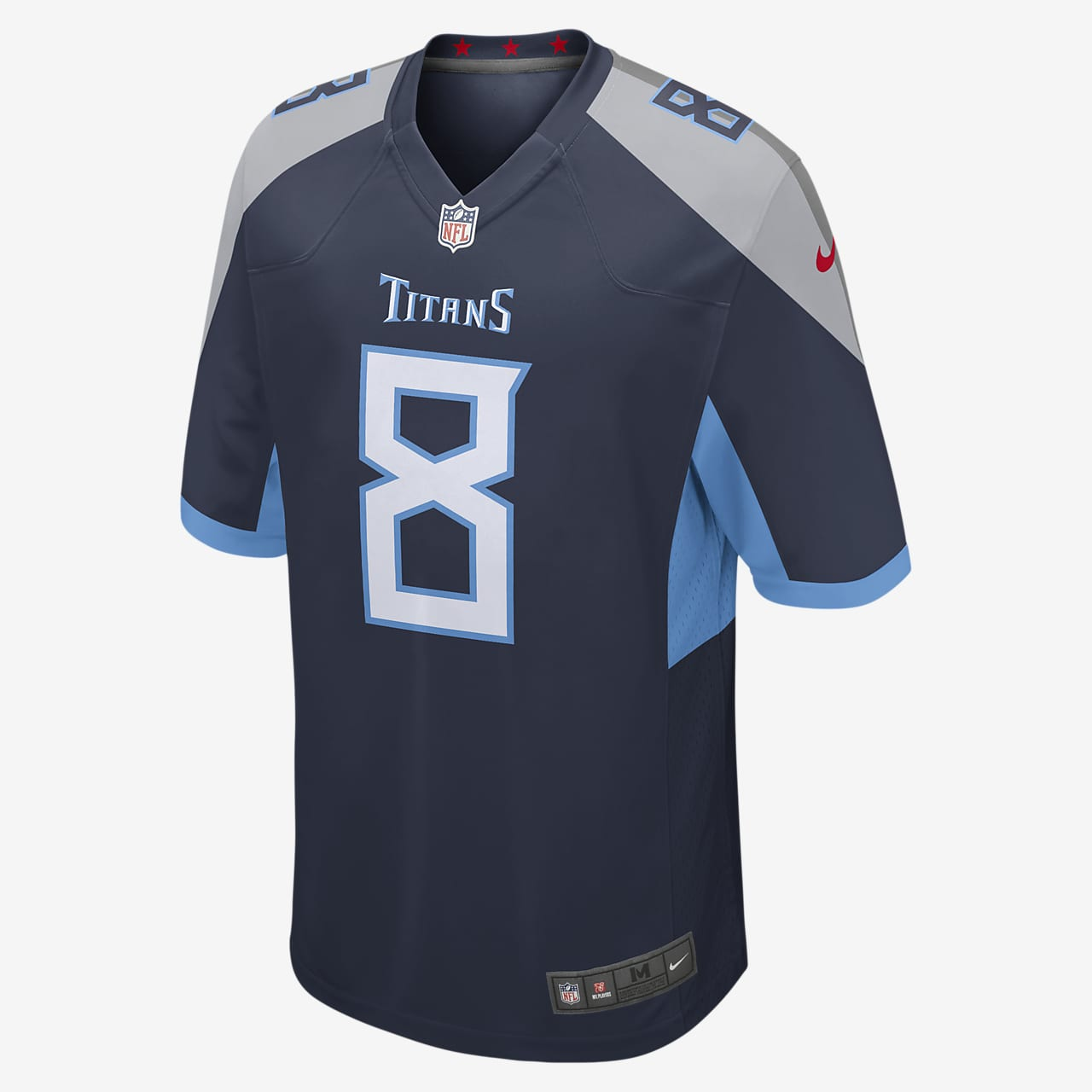 NFL Tennessee Titans Game Jersey (Marcus Mariota) Men's American Football Jersey