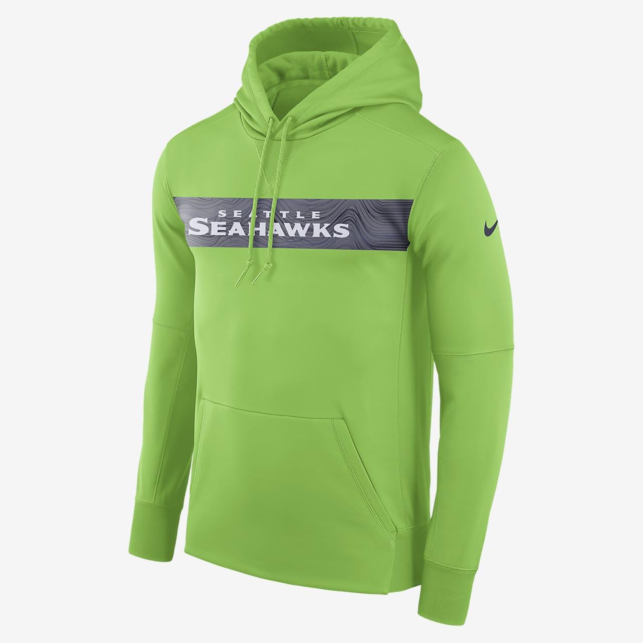 Seattle Seahawks Nike NFL 100 Years Therma Hoodie Mens