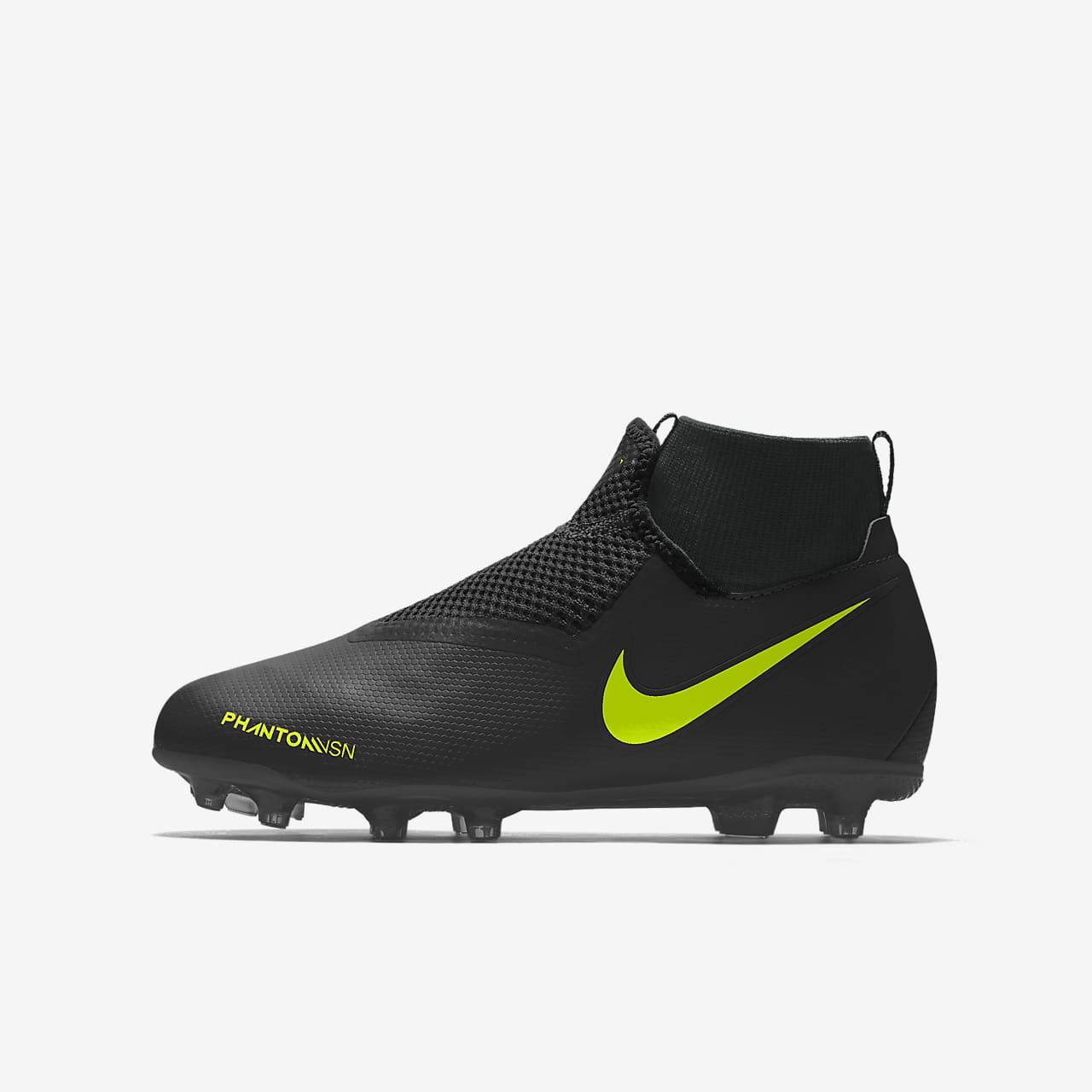 Nike Phantom Vision Academy Jr. MG By You Custom Older Kids' Multi-Ground Football Boot
