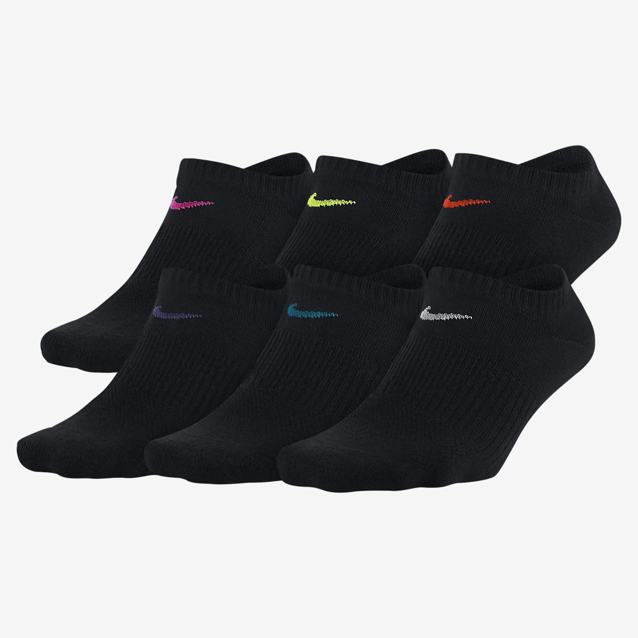 Calcetines de entrenamiento invisibles Nike Everyday Lightweight (6 pares)
