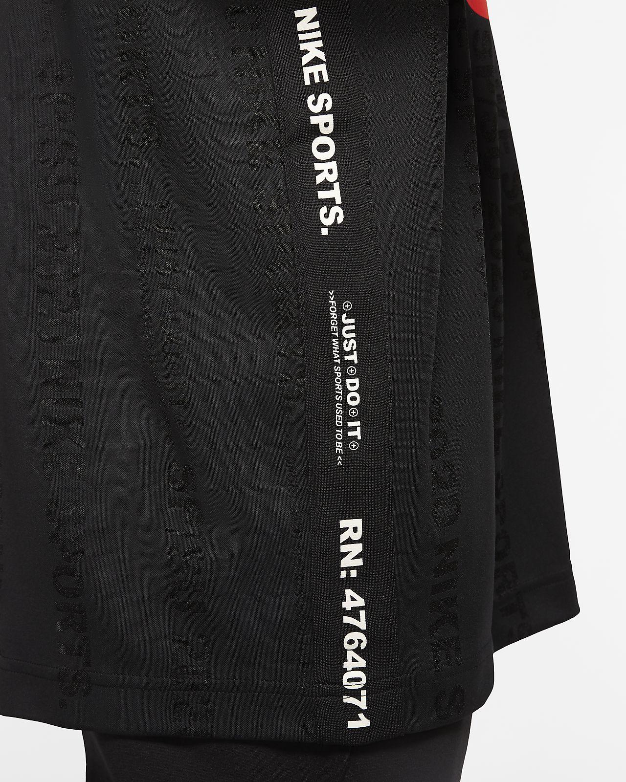 NIKE ACG Tee Black Orange Back Sportswear NikeLab Size XL NSW We Out There