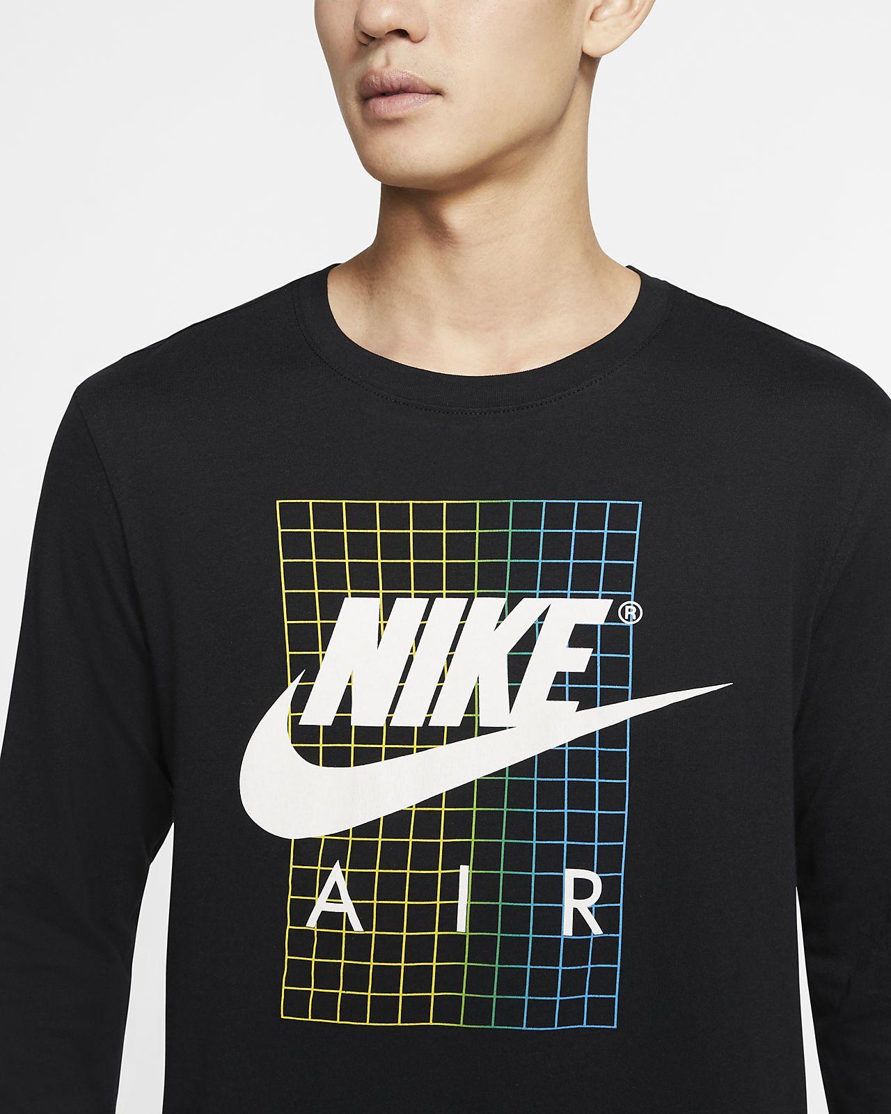 Nike Shirt Langarm Herren für Sportswear T 7v6Ygbyf