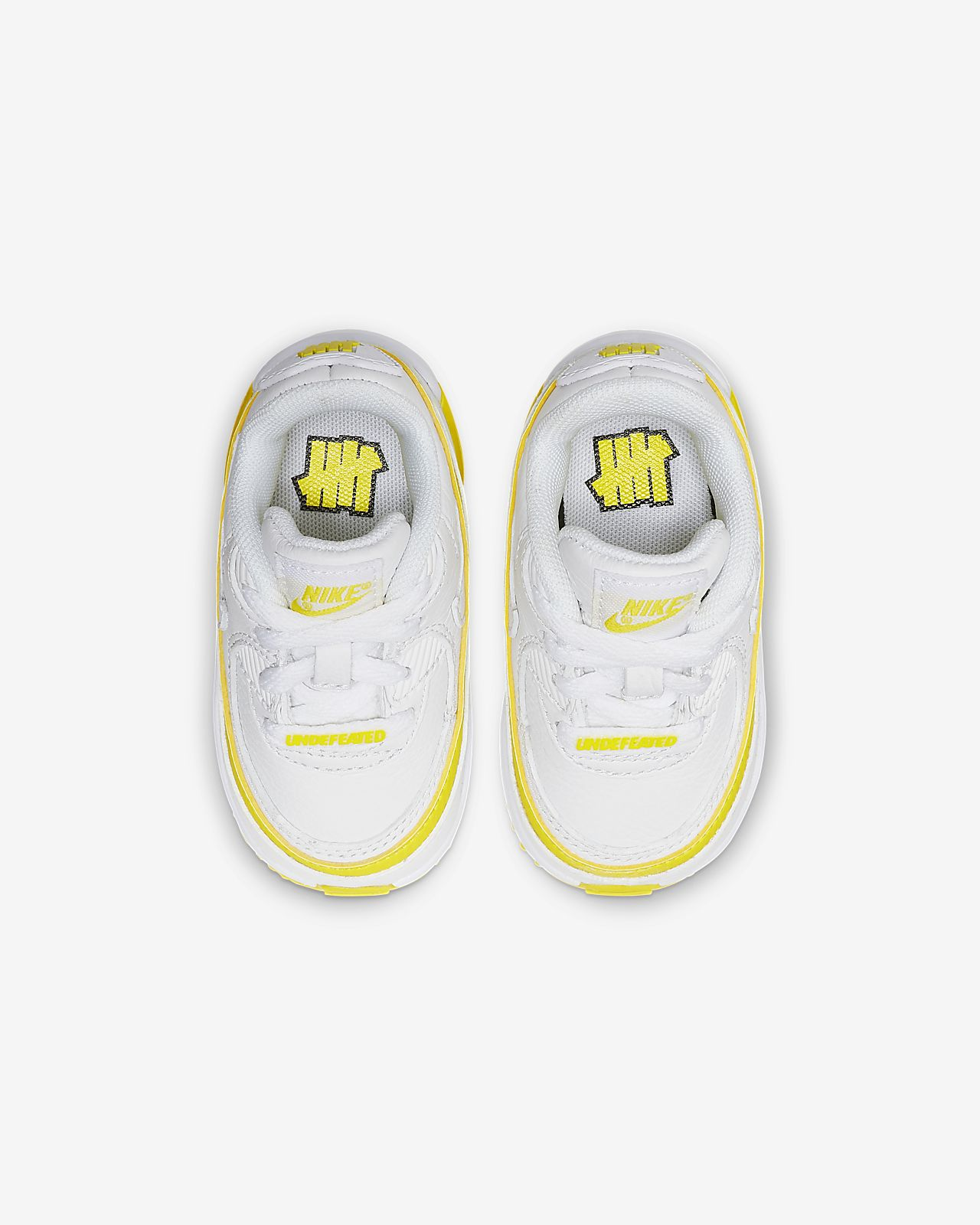 Nike x Undefeated Air Max 90 Baby and Toddler Shoe