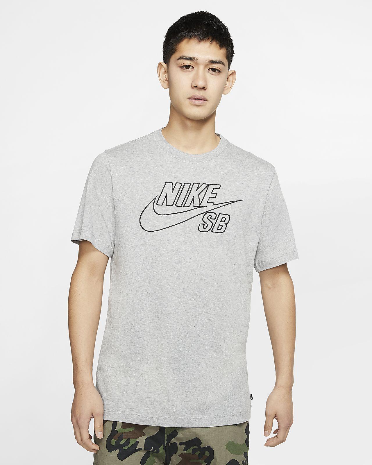Playera de skateboarding con logotipo para hombre Nike SB