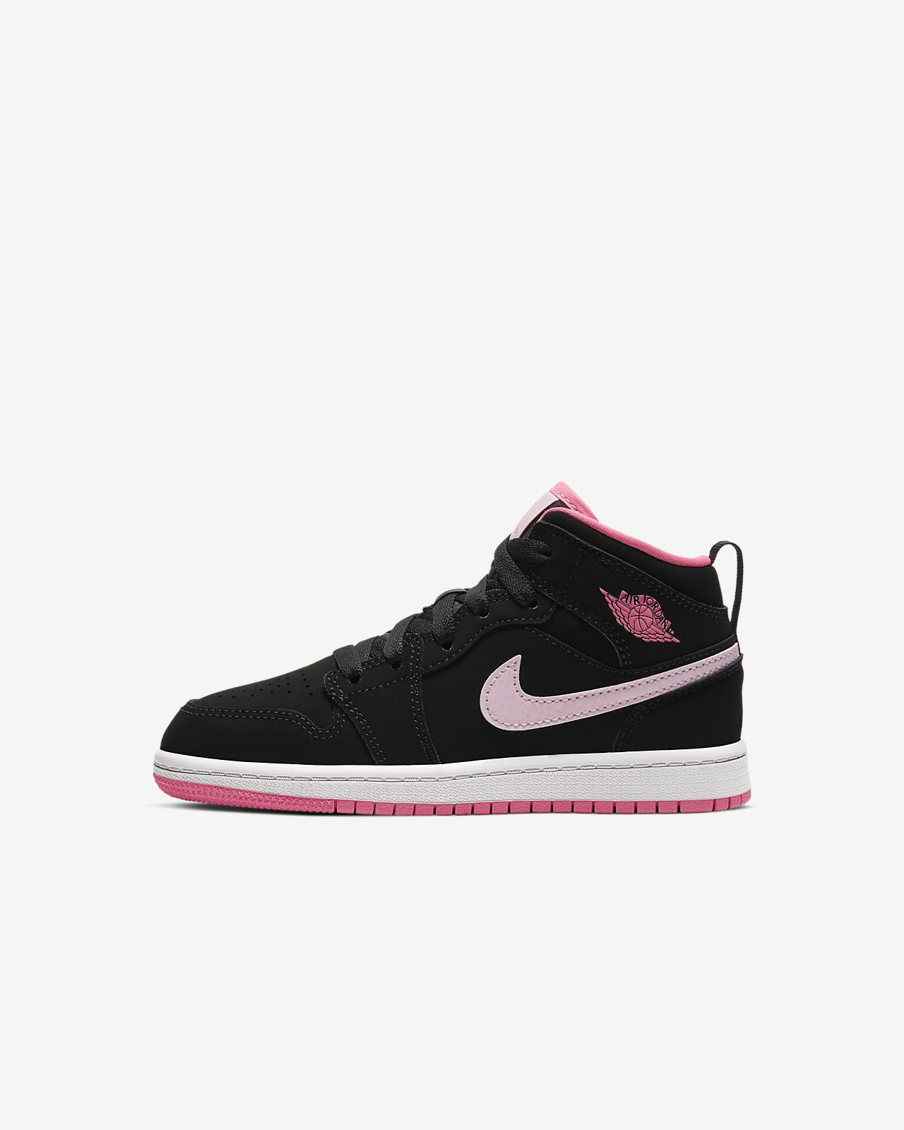 Air Jordan 1 Mid Younger Kids' Shoe