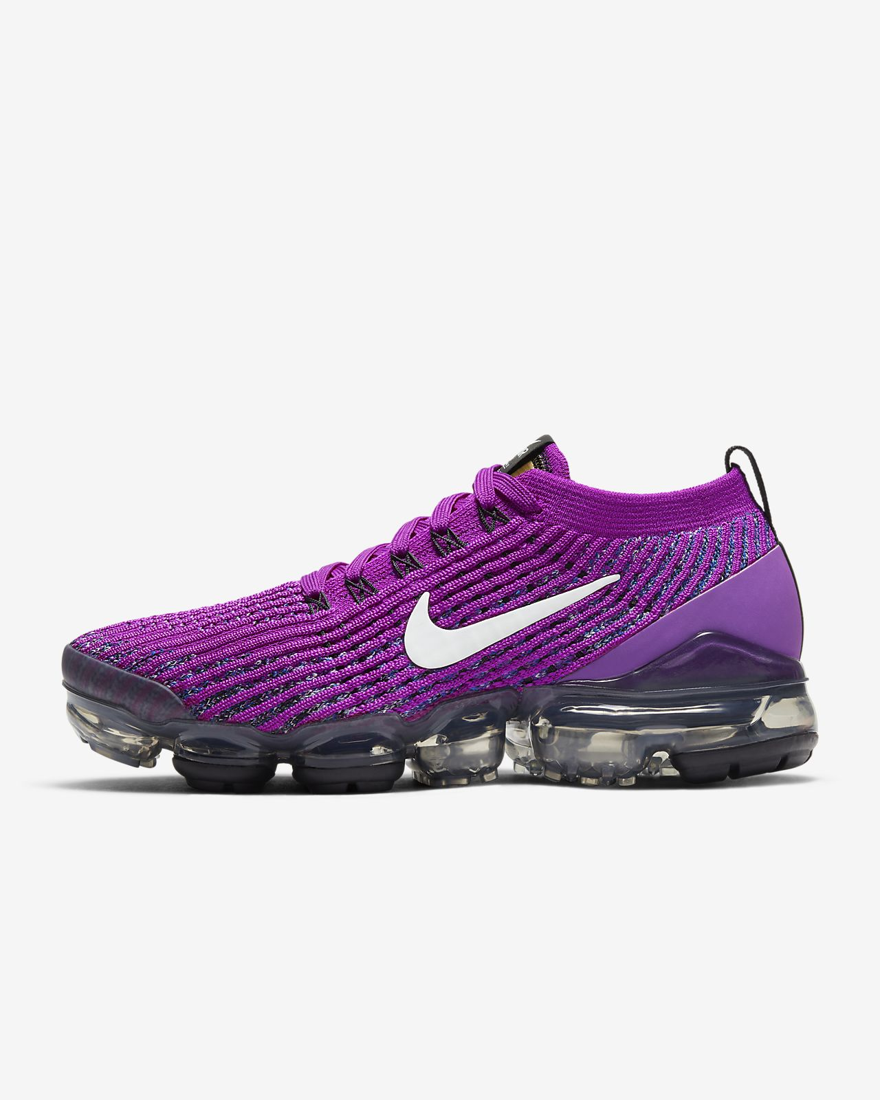 nike flyknit air max donna scarpe nero purple blue