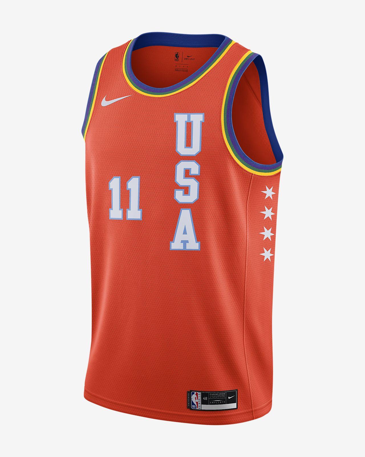Trae Young All-Star USA 'Rising Stars' Nike NBA Swingman Jersey 男子球衣