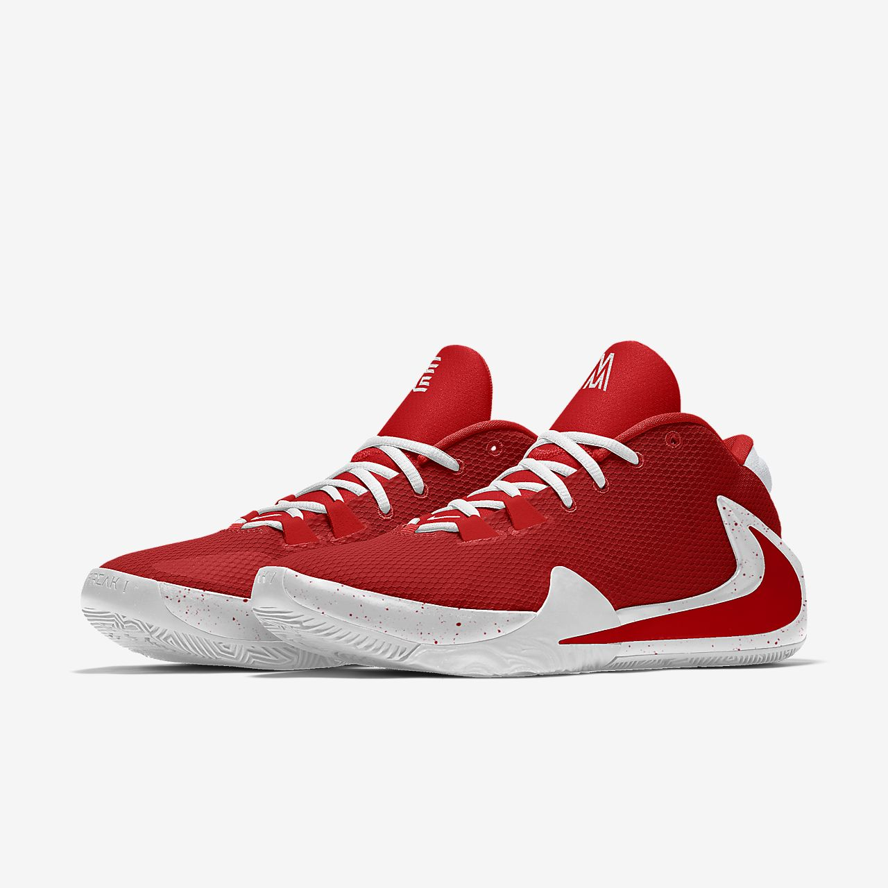 Scarpa da basket personalizzabile Nike Zoom Freak 1 By You