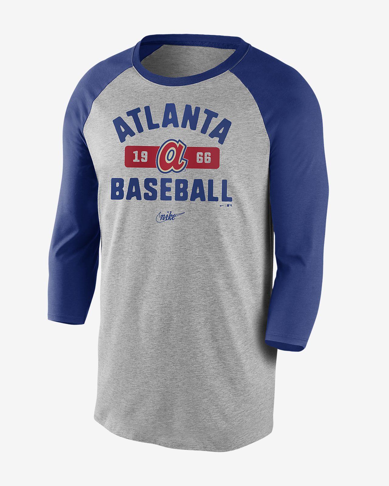 nike vintage shirt blue