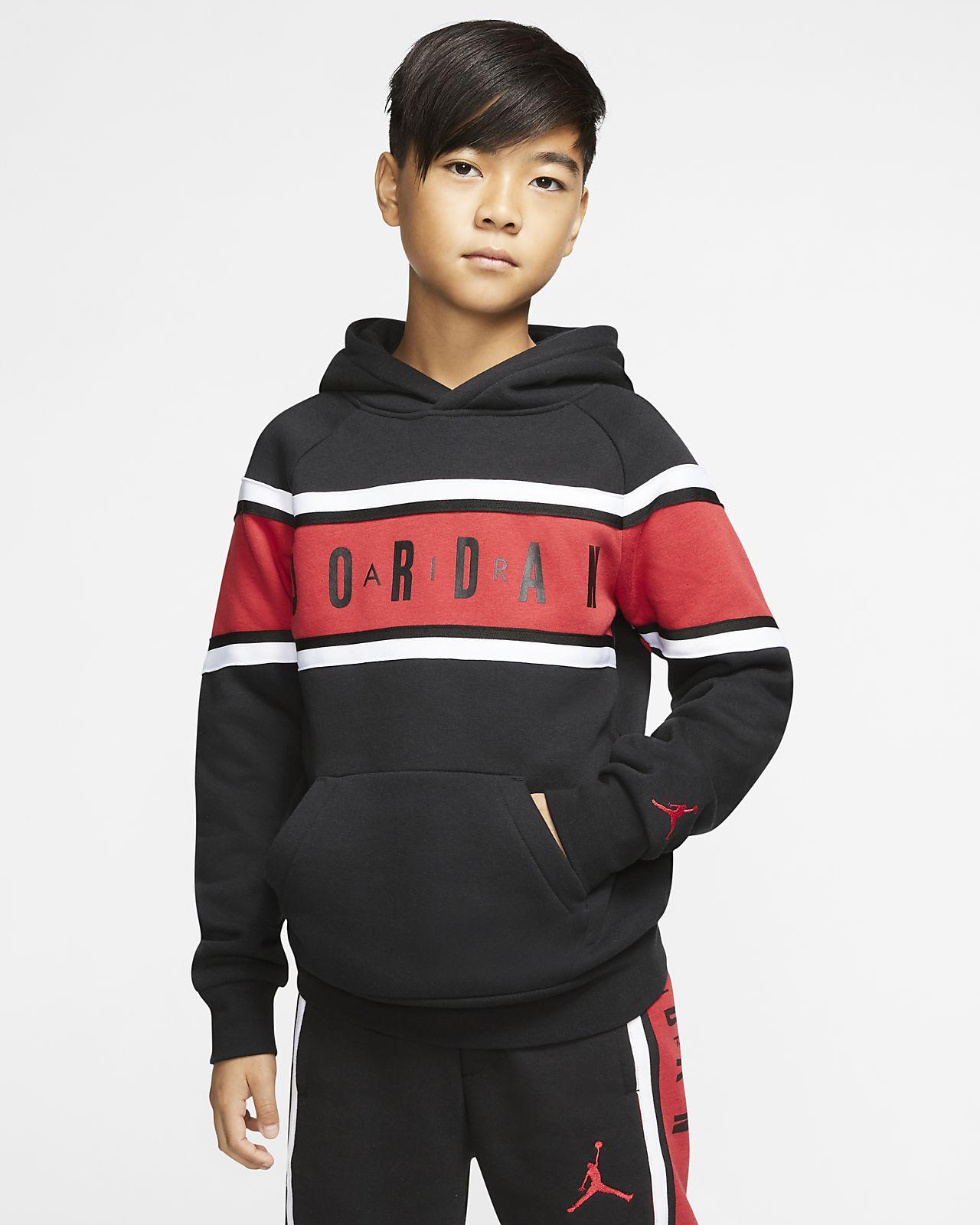 Air Jordan Older Kids' (Boys') Colour-Blocked Taped Hoodie