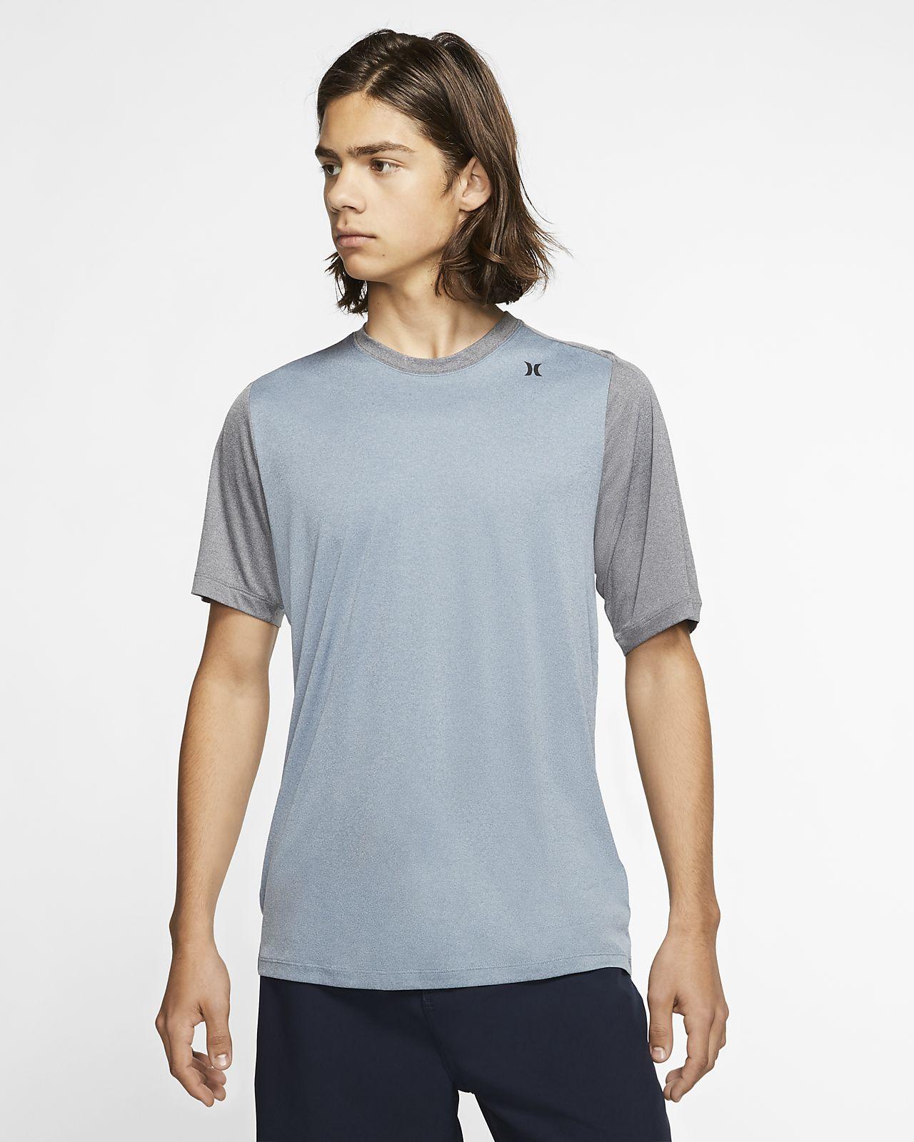 Męska koszulka z krótkim rękawem Hurley Quick Dry Nu Basics
