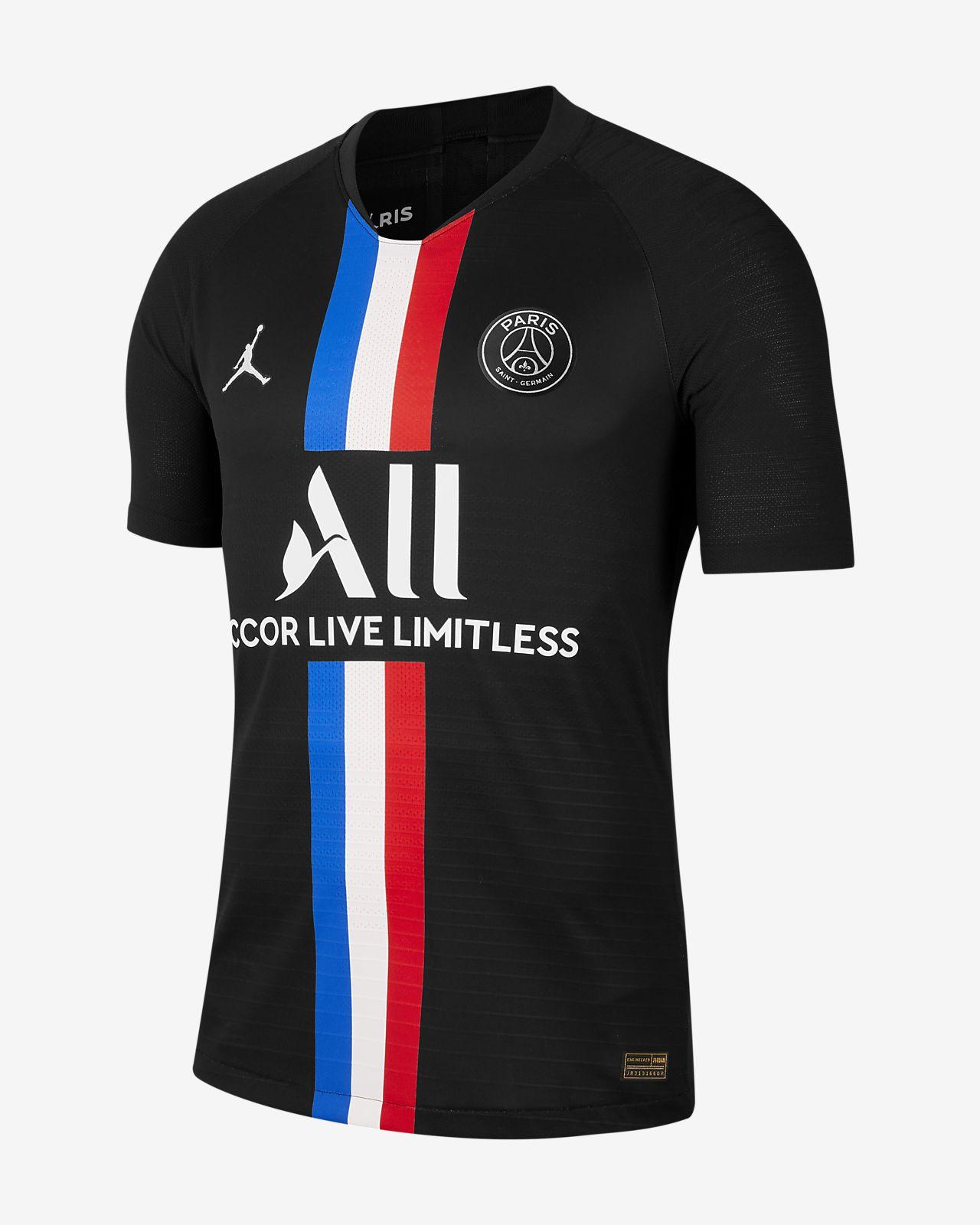 Jordan x Paris Saint-Germain 2019/20 Vapor Match Fourth Erkek Futbol Forması