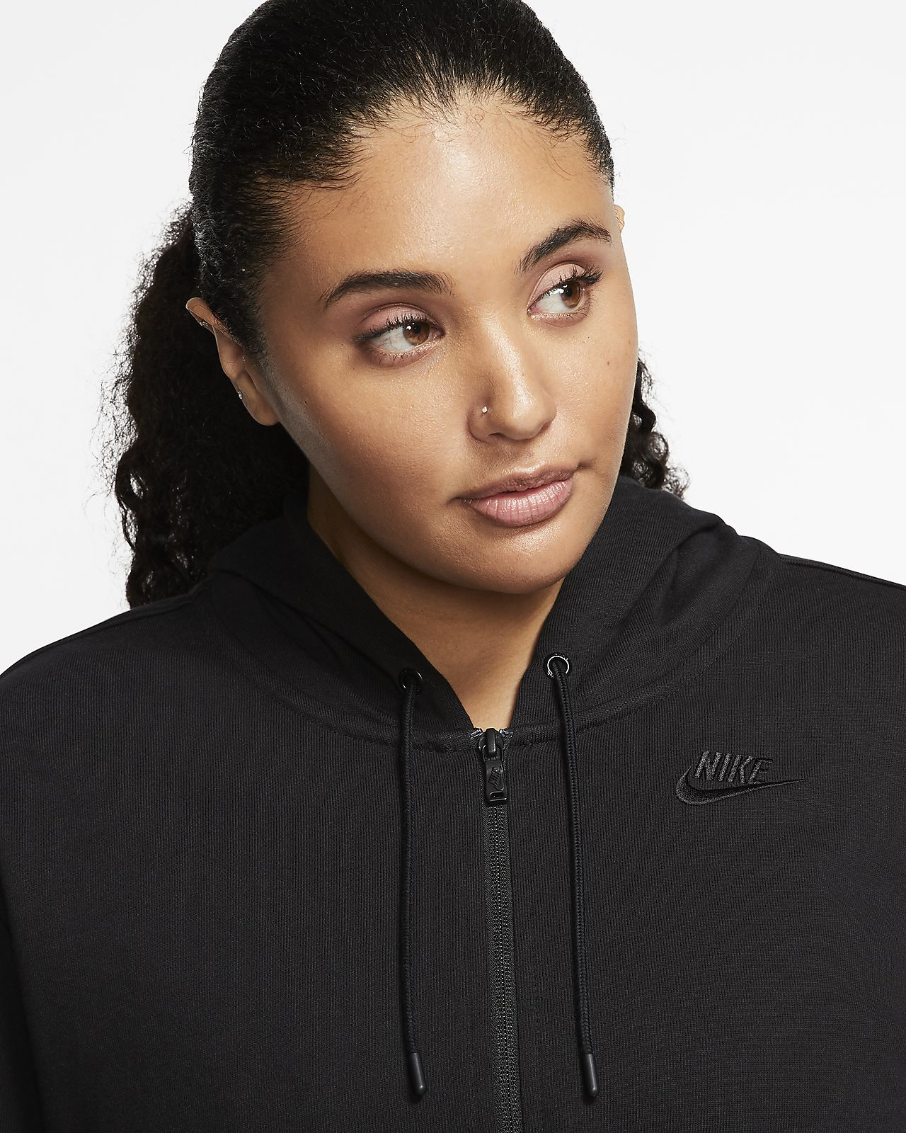 Nike Essential Flash Hooded Jacket for Women SIZE 1X