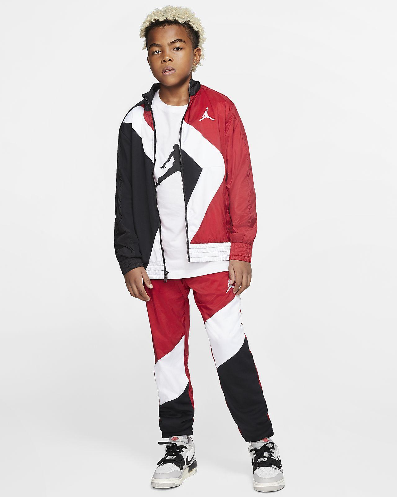 Rozpinana kurtka dla dużych dzieci (chłopców) Jordan Wings