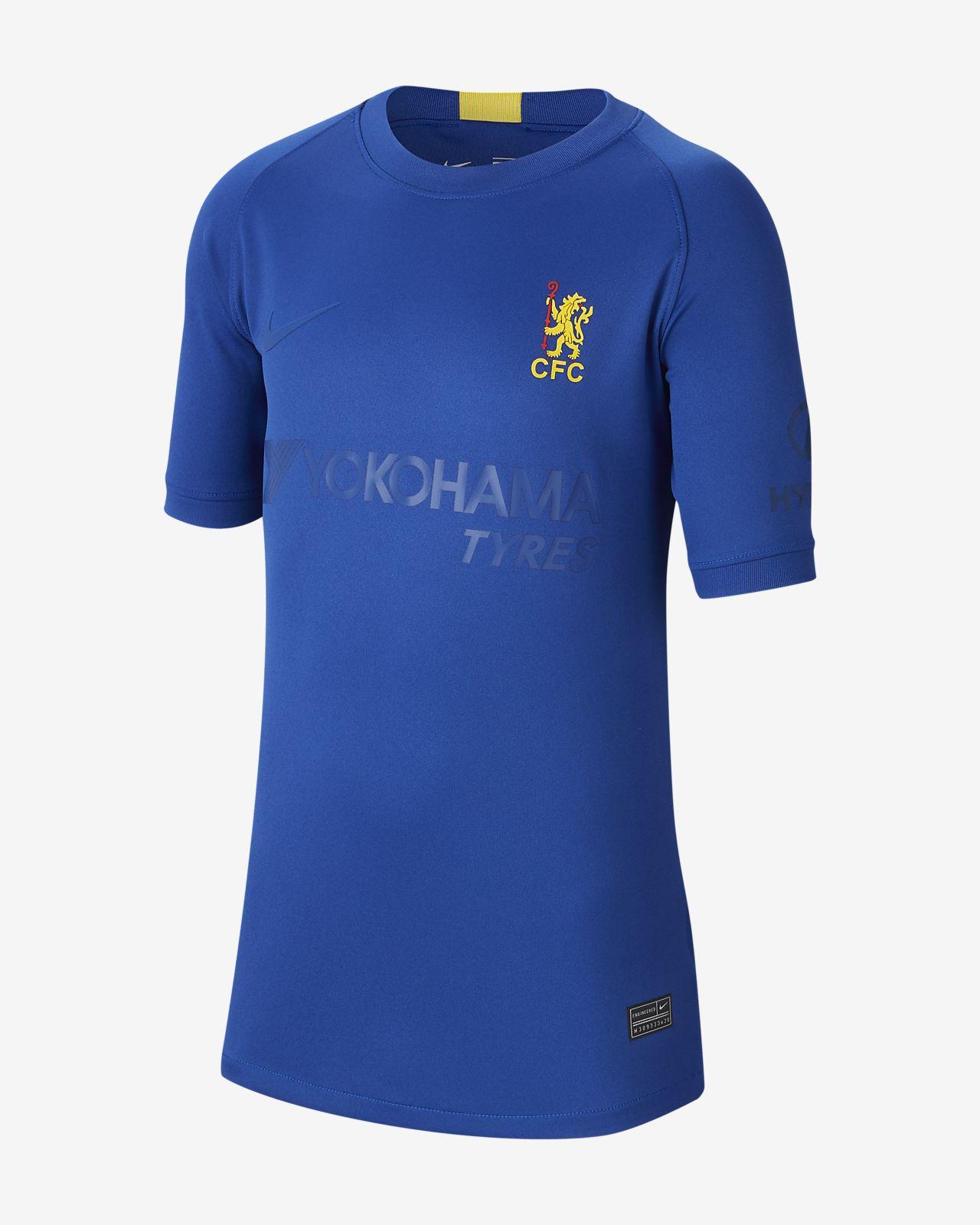 Chelsea FC Stadium Cup Older Kids' Football Shirt